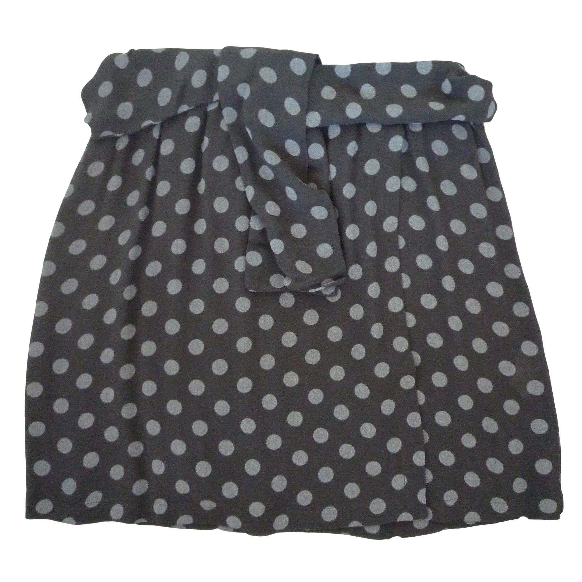 Jupe courte ONE STEP Gris, anthracite