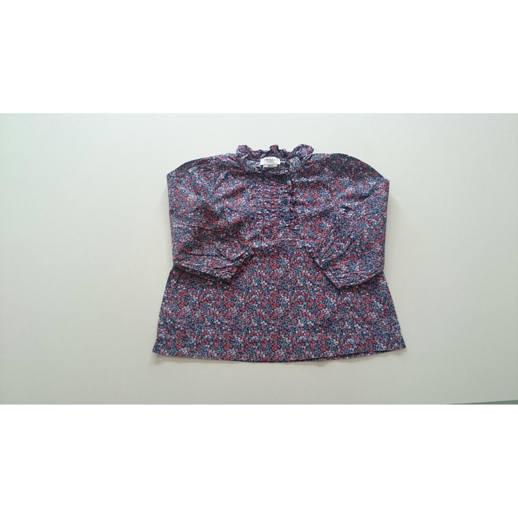Chemise CYRILLUS Violet, mauve, lavande