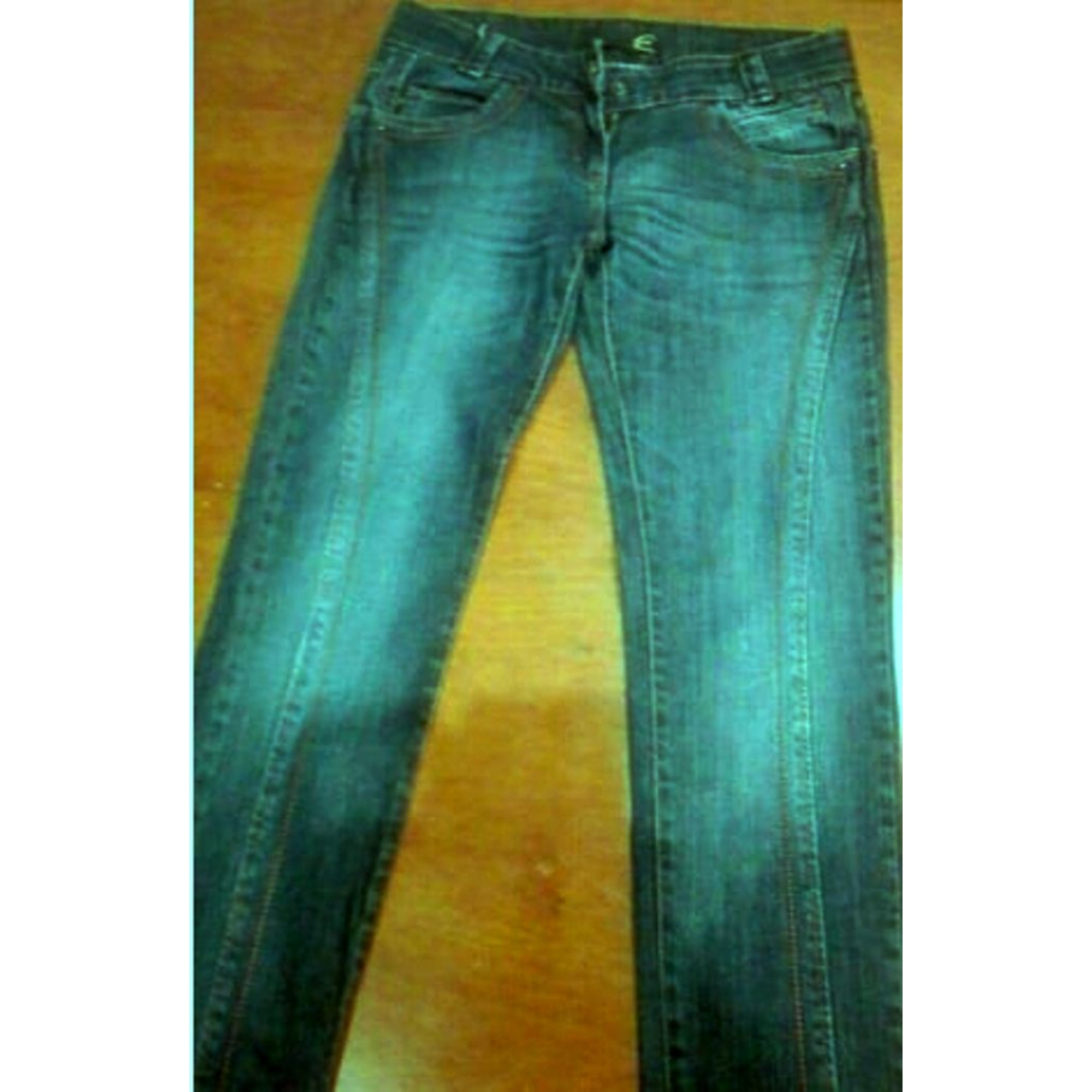Jeans droit JUST CAVALLI blu scuro