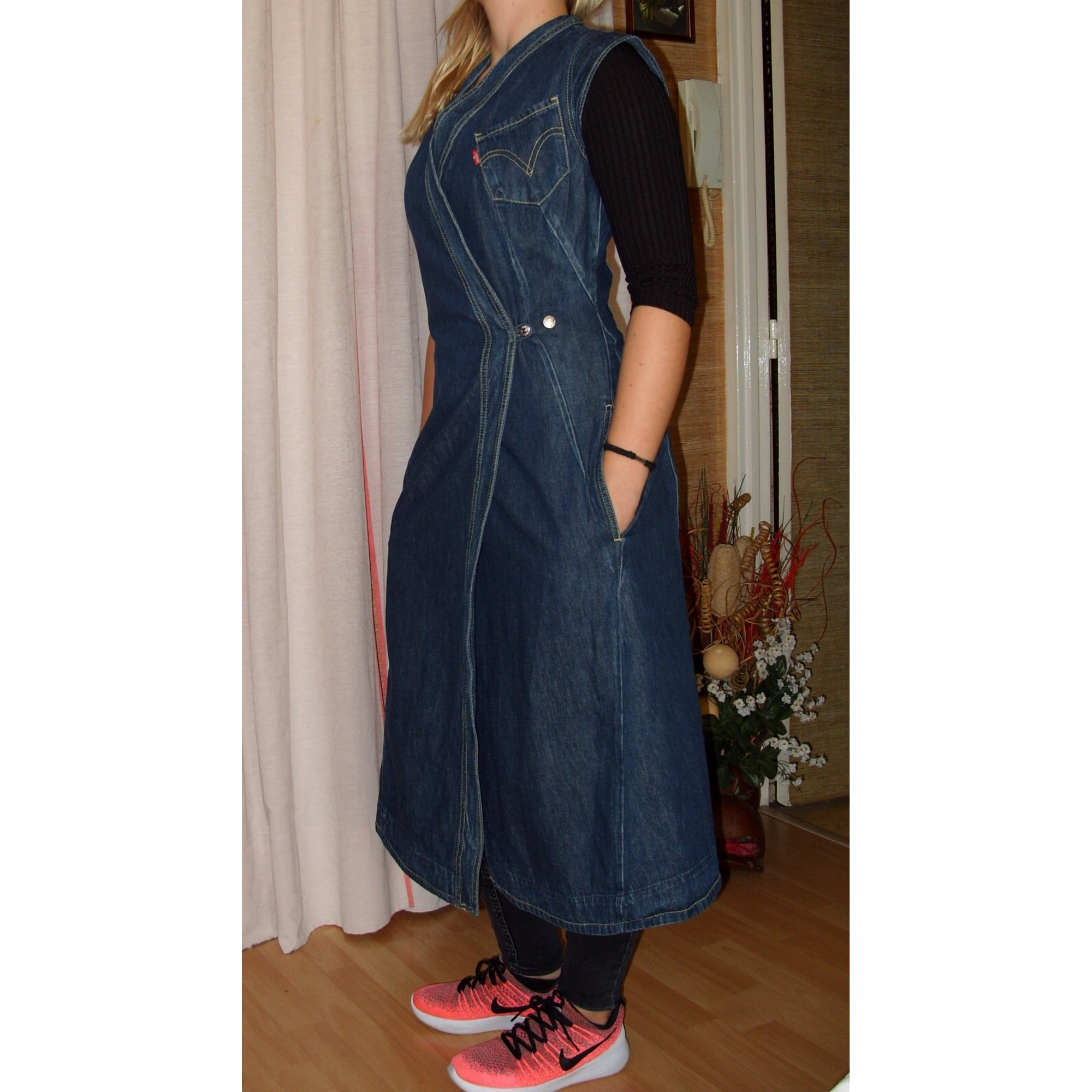 Robe En Jeans Levi S 36 S T1 Bleu Vendu Par Jeanmania 6764427