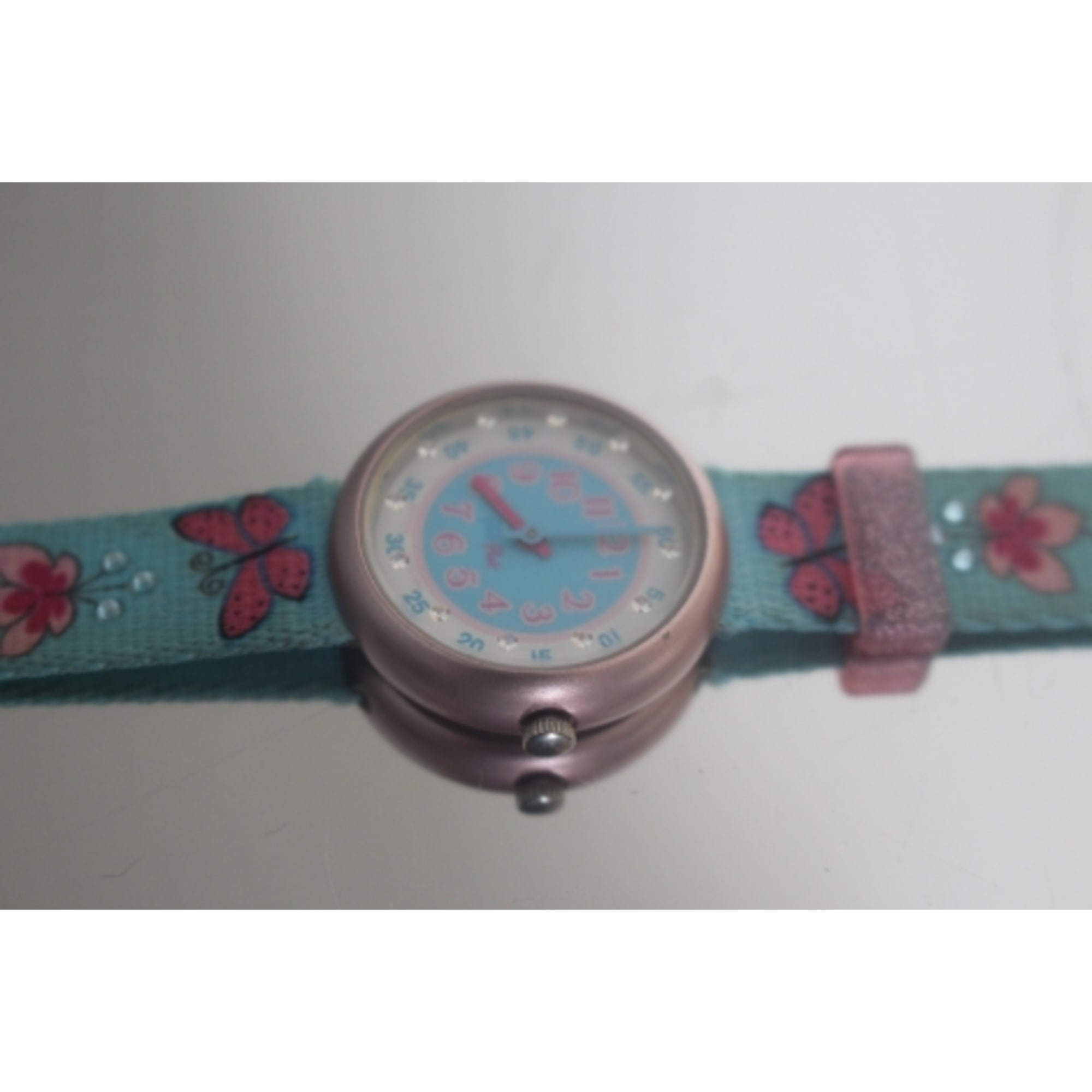 Watch FLIK FLAK Blue, navy, turquoise