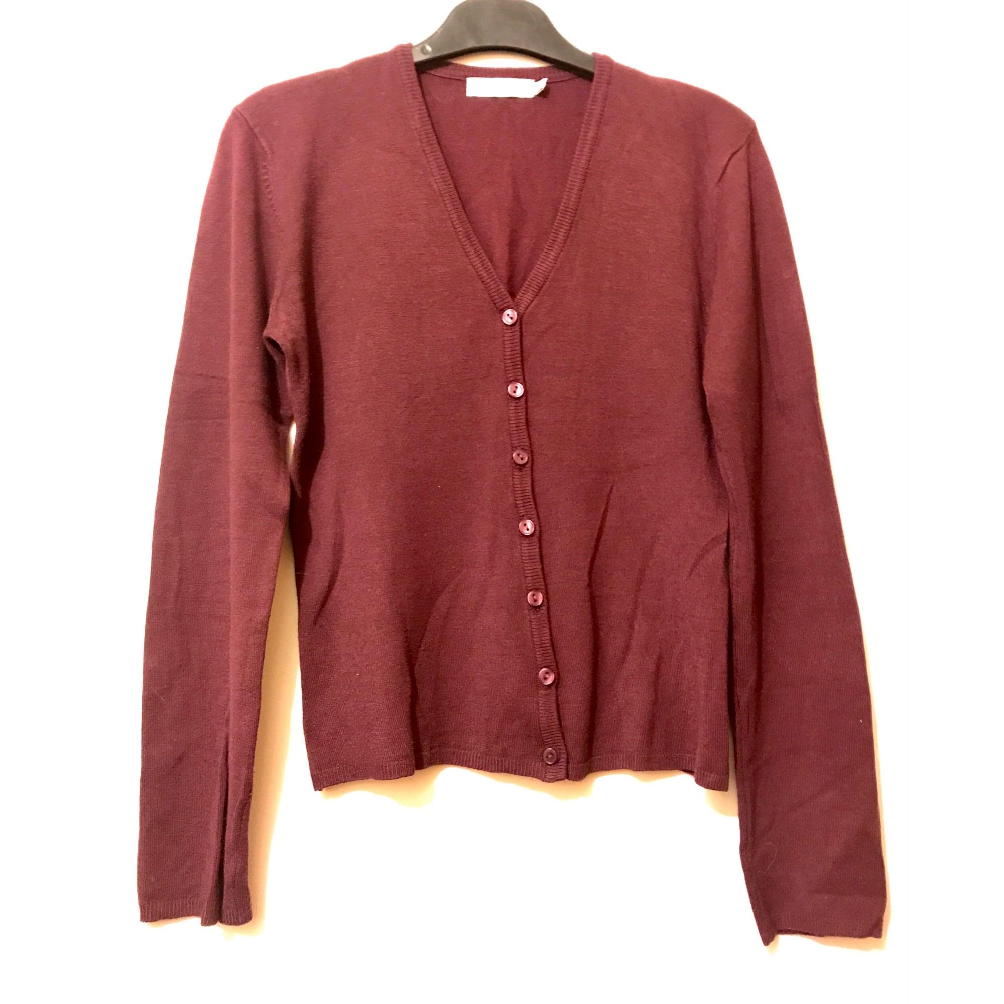 Gilet, cardigan SUD EXPRESS Rouge, bordeaux