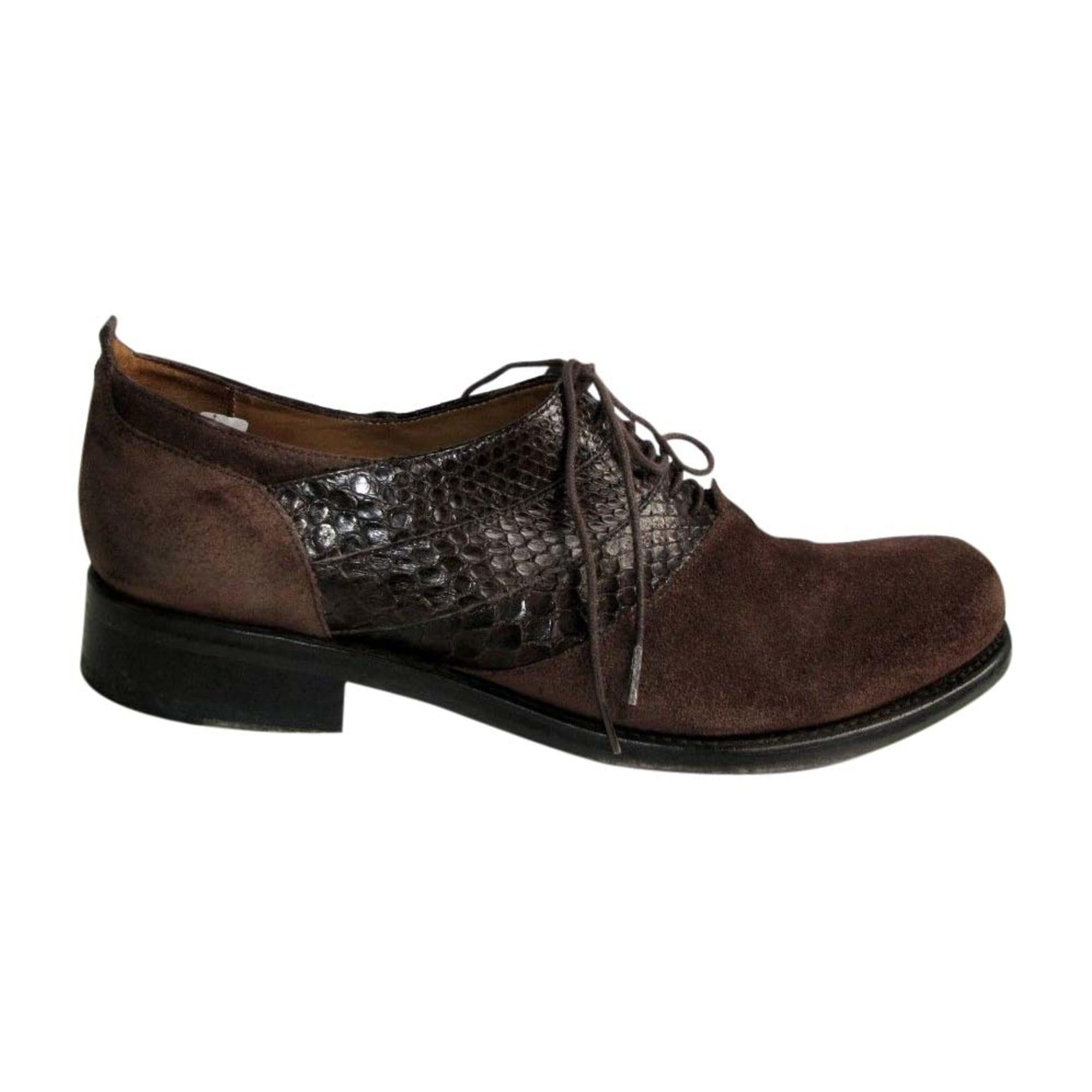 Chaussures à lacets JEAN BAPTISTE RAUTUREAU Marron
