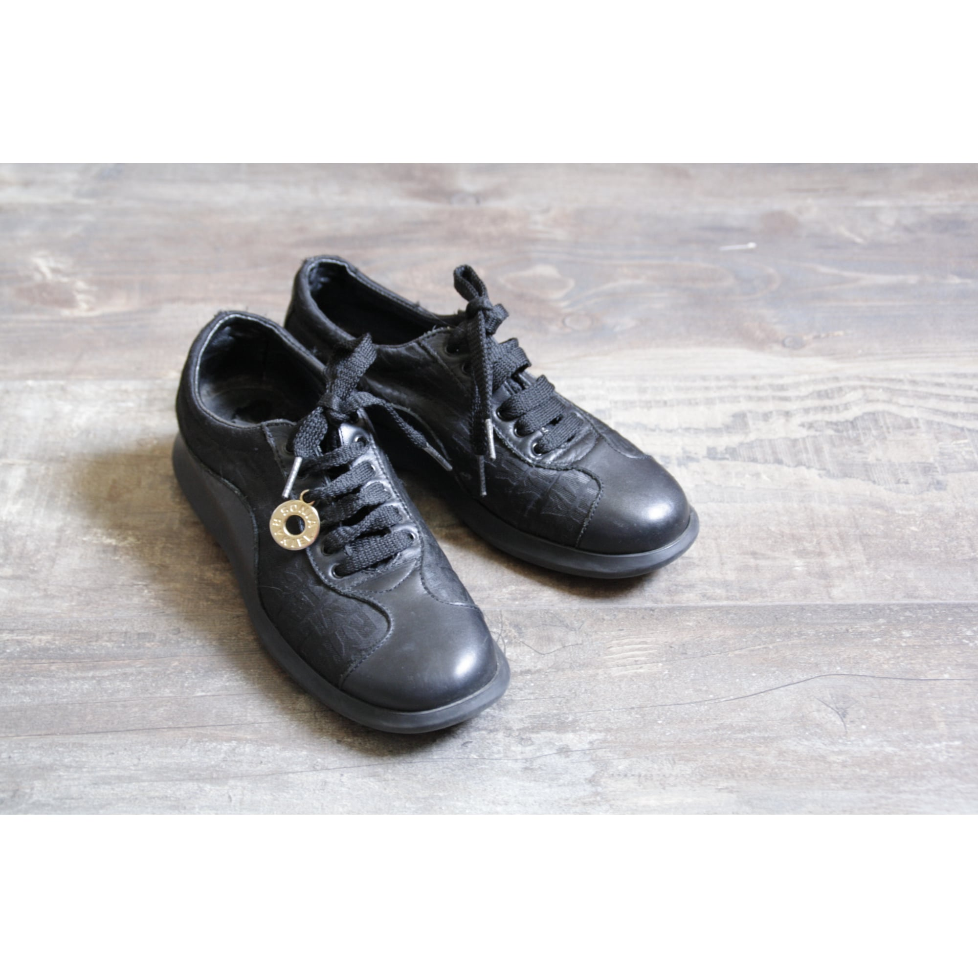 Chaussures à lacets  SONIA RYKIEL Noir