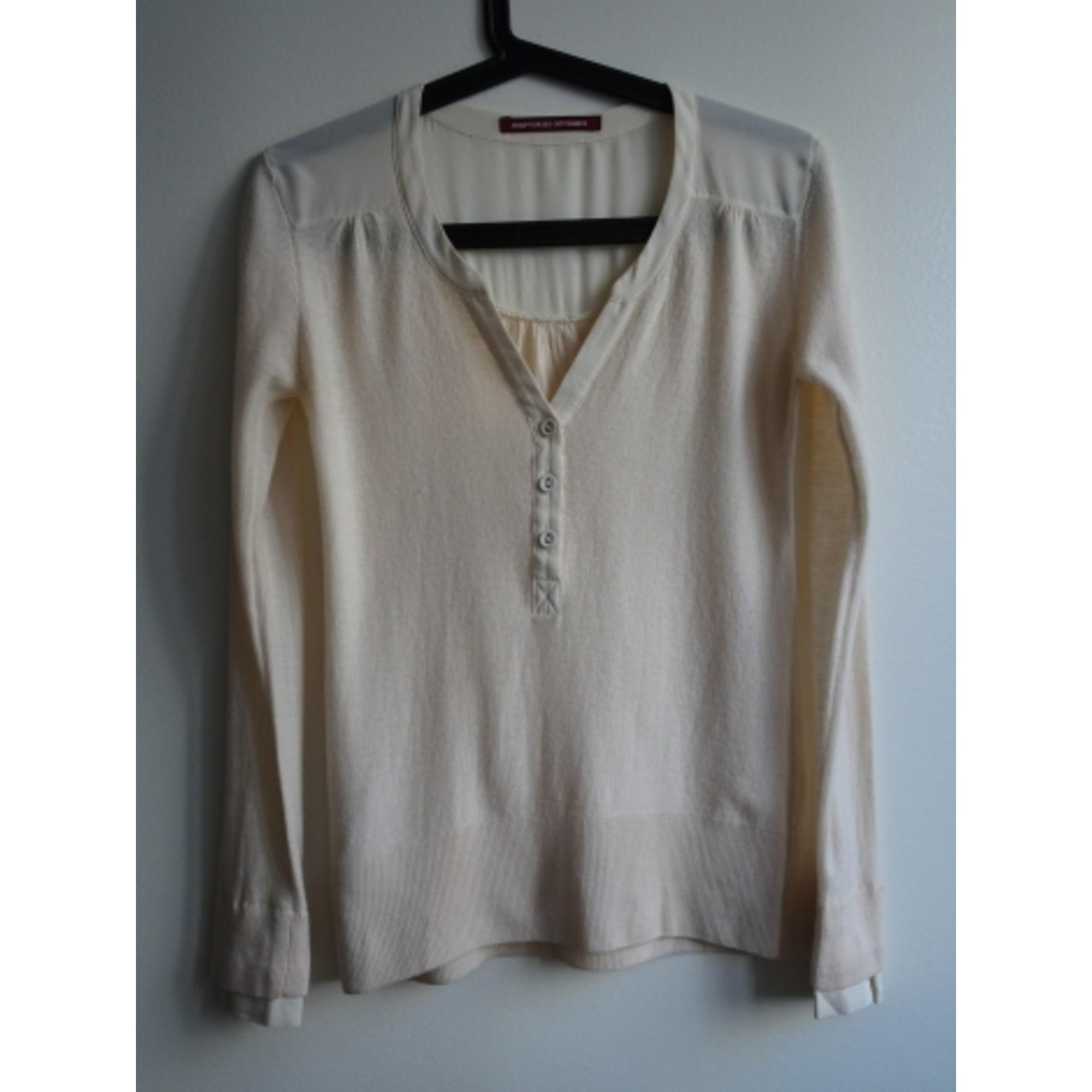 Top, tee-shirt COMPTOIR DES COTONNIERS Beige, camel