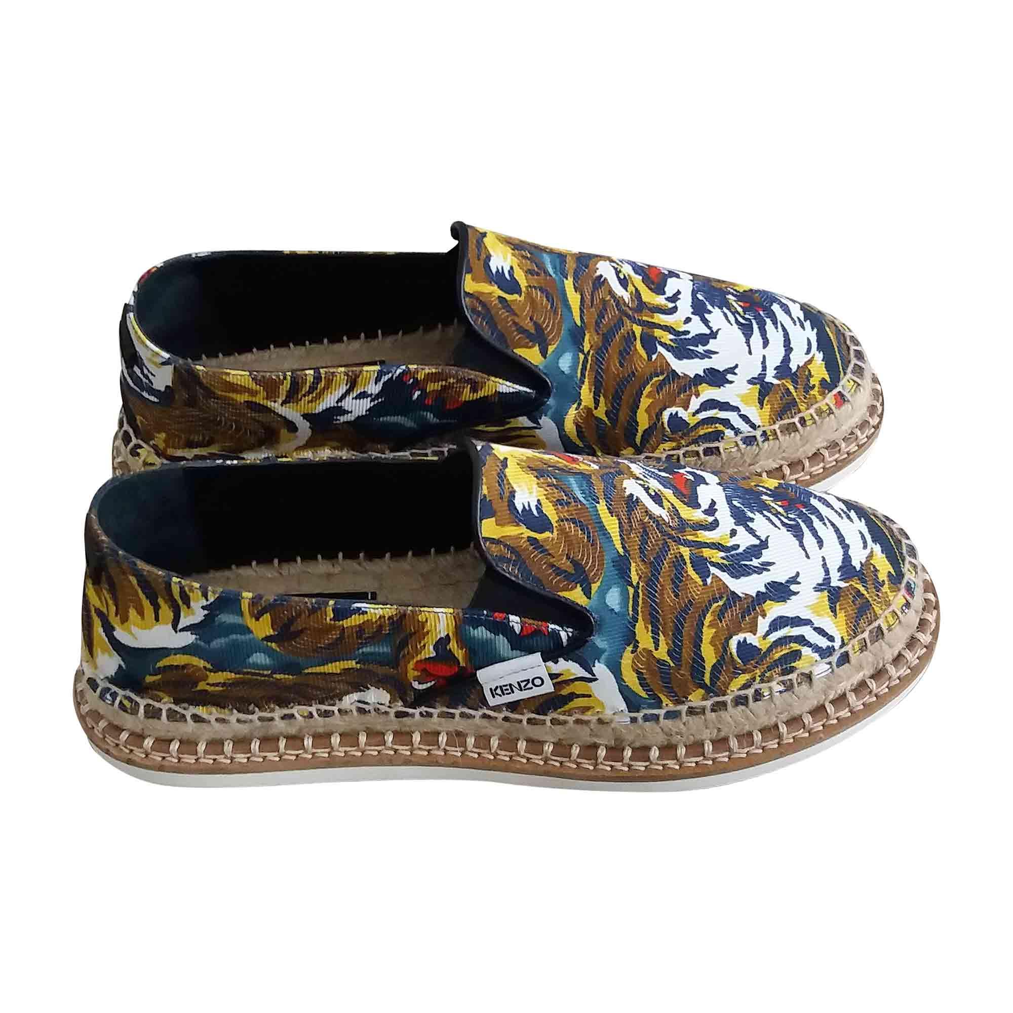 Chaussons & pantoufles KENZO Jaune