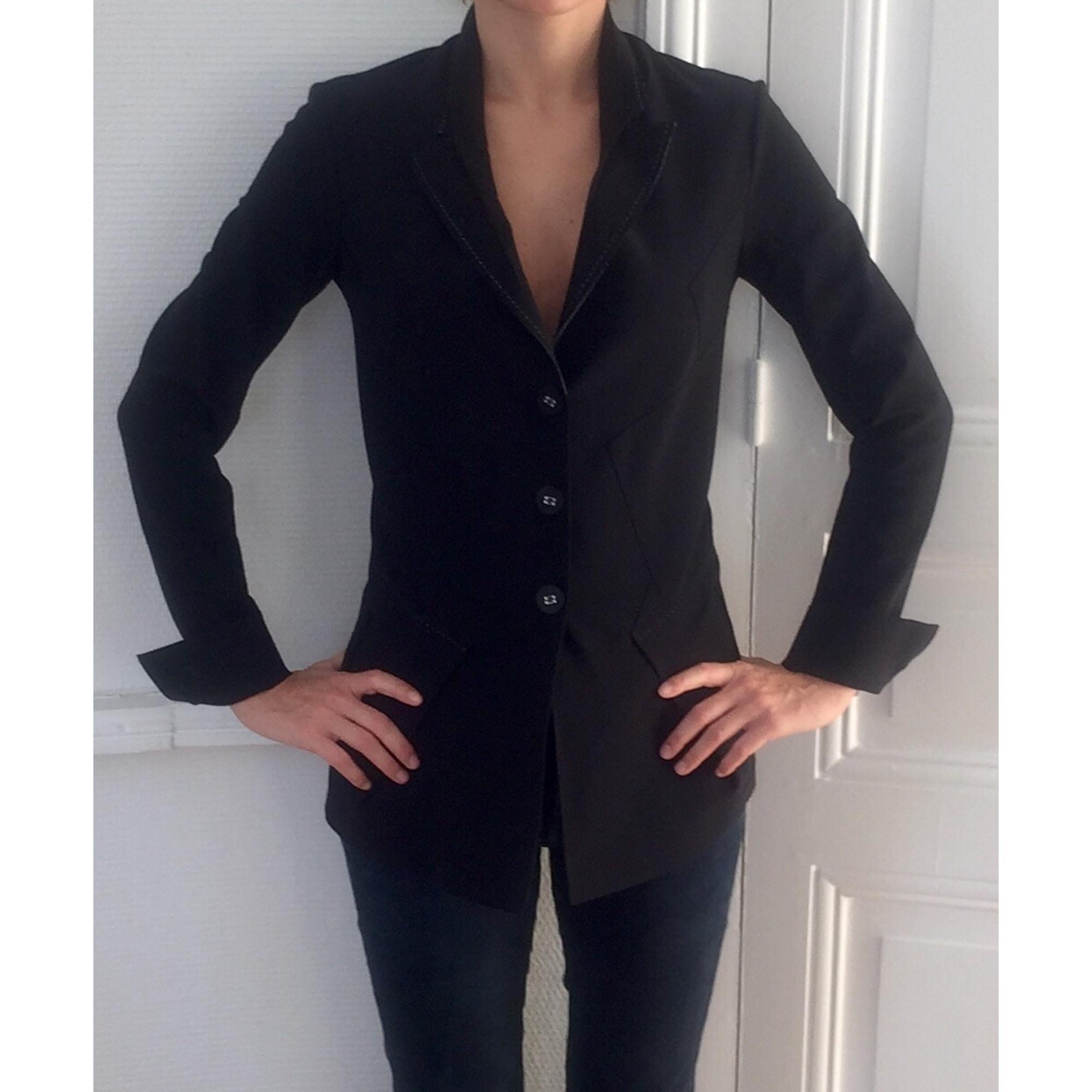 Blazer, veste tailleur MARITHÉ ET FRANÇOIS GIRBAUD Noir