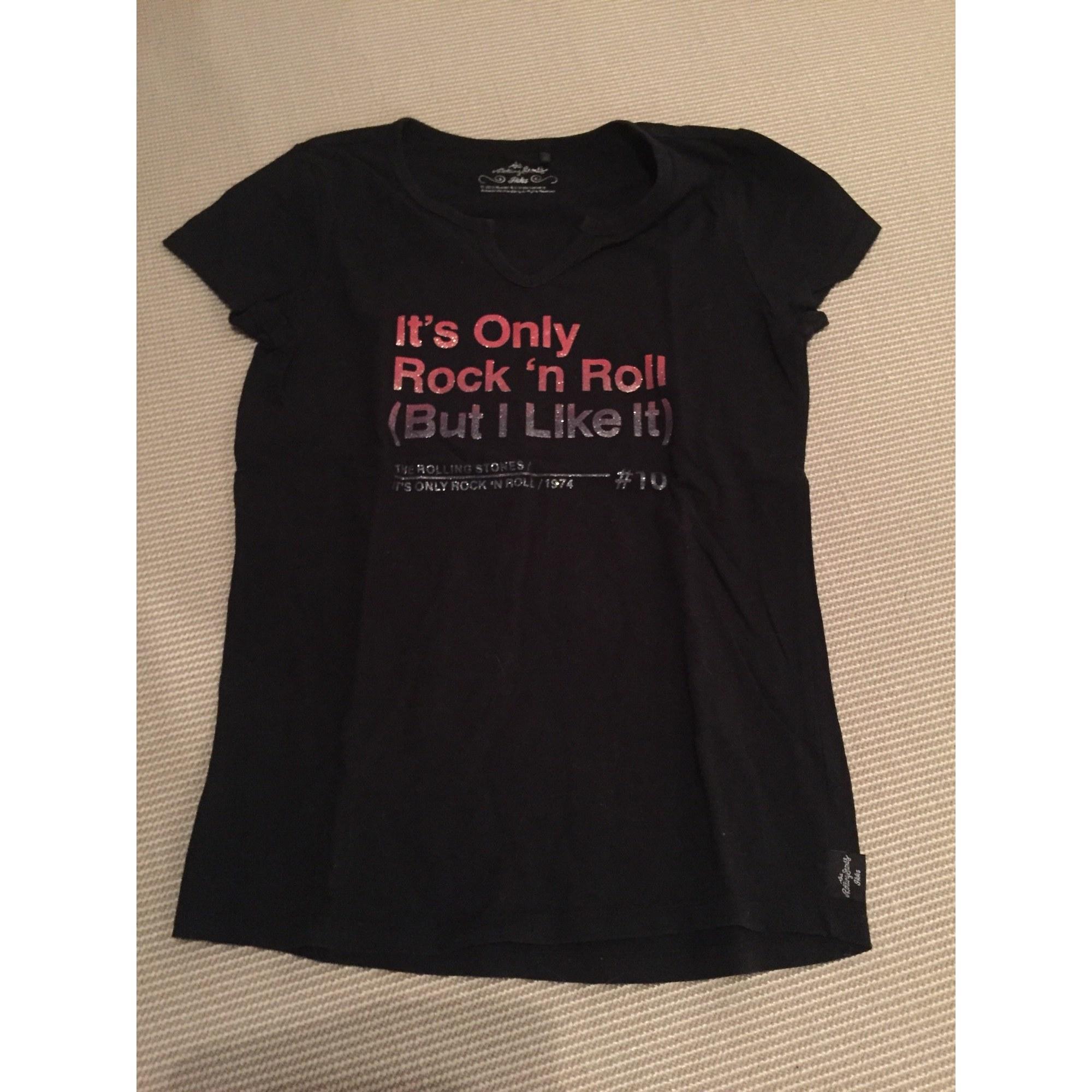 Top, Tee-shirt IKKS Noir