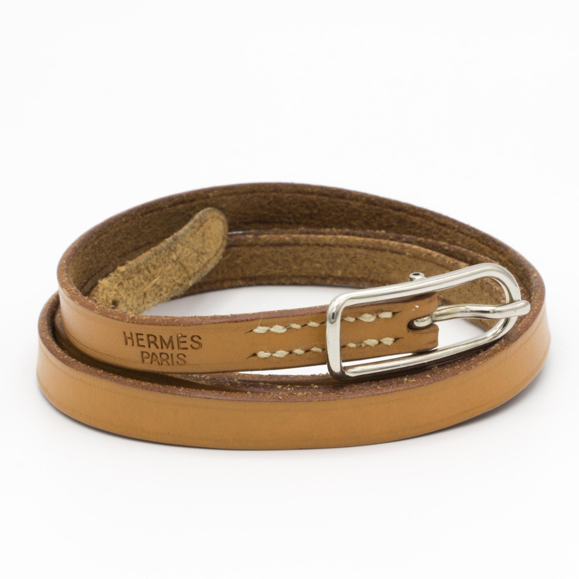 Bracelet HERMÈS Hapi Marron