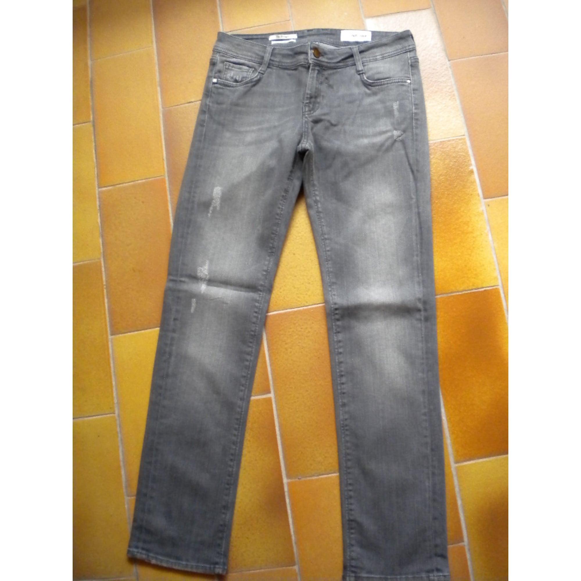 Jeans droit RICH & ROYAL Gris, anthracite