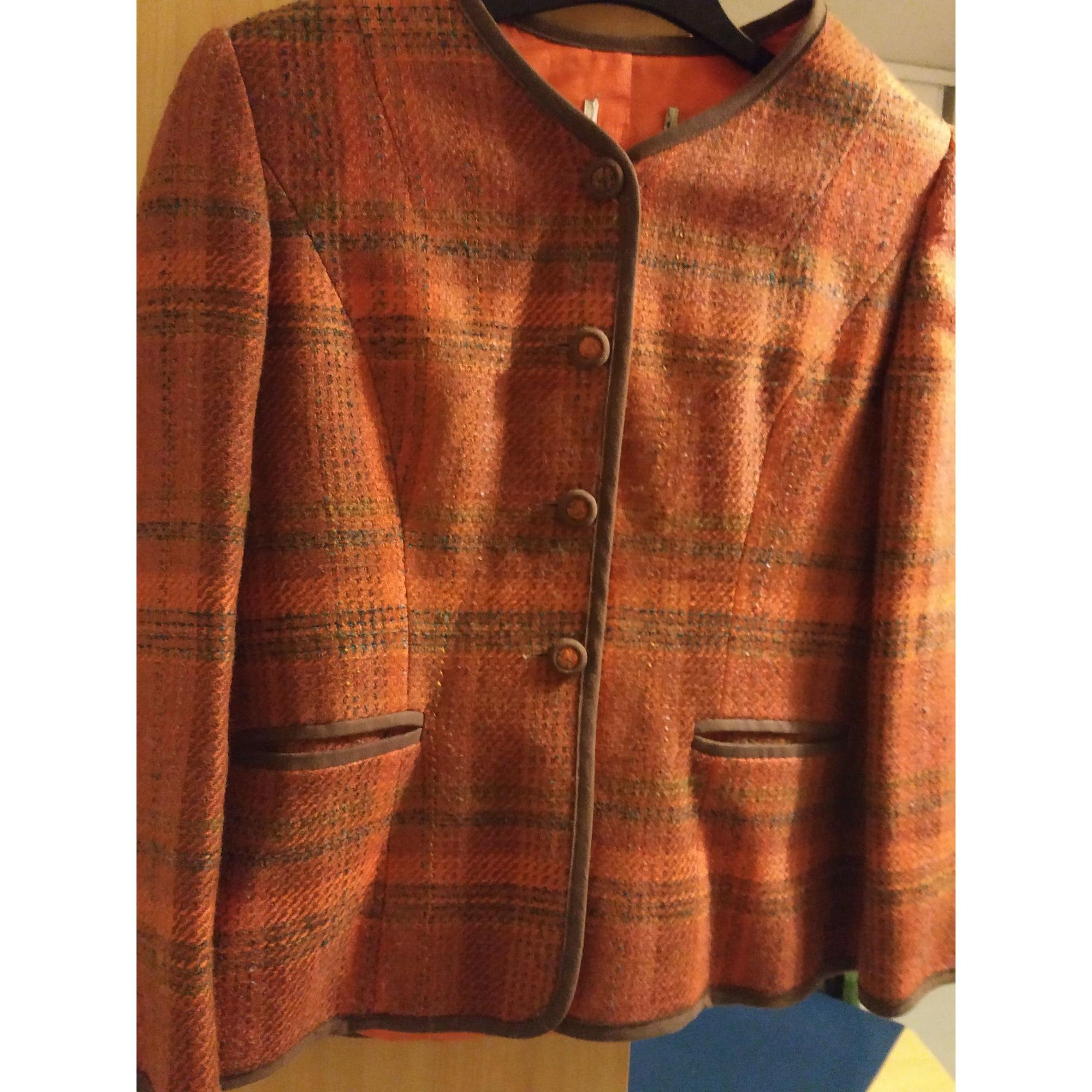 Blazer, veste tailleur SANS MARQUE Doré, bronze, cuivre