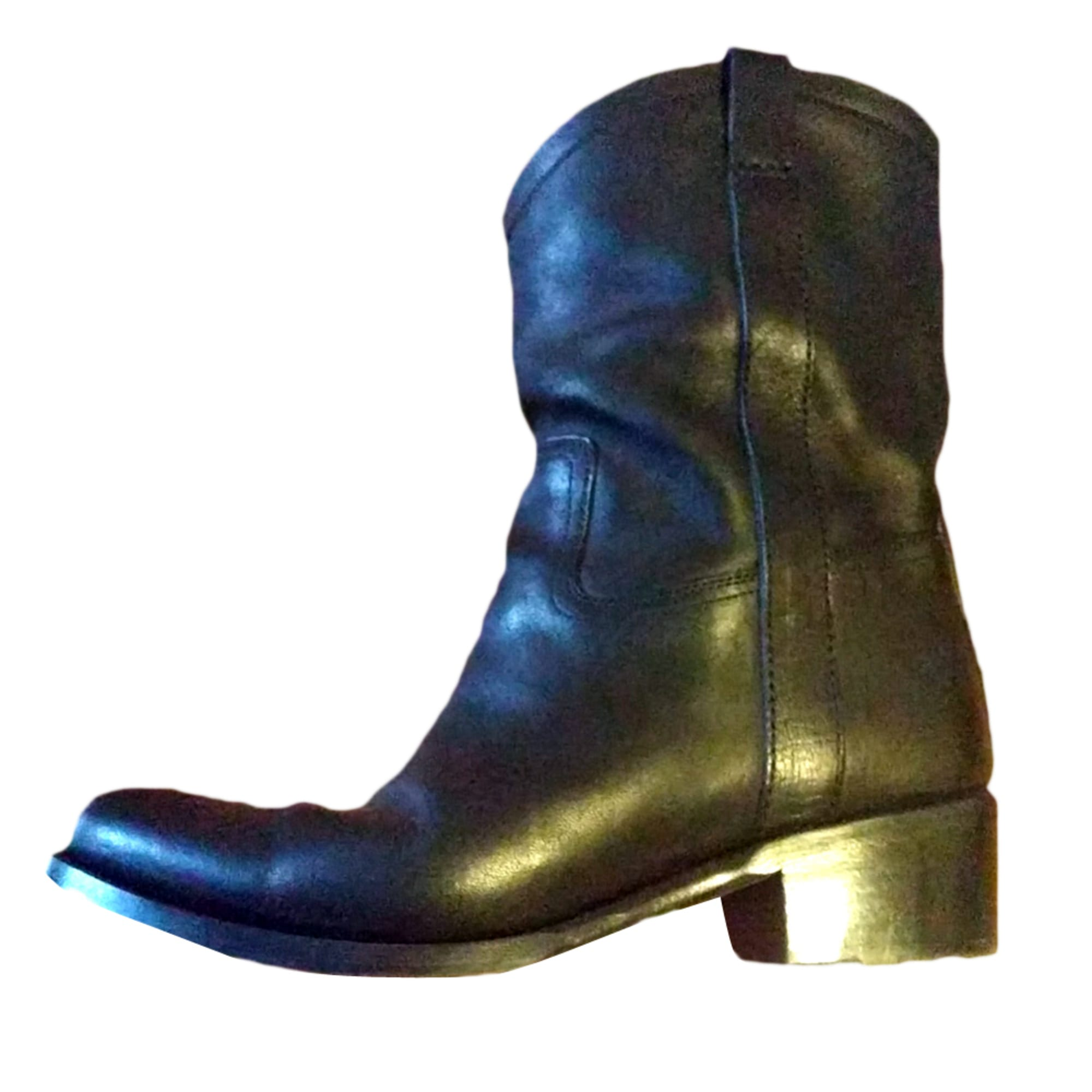 Cowboy Ankle Boots HESCHUNG Black