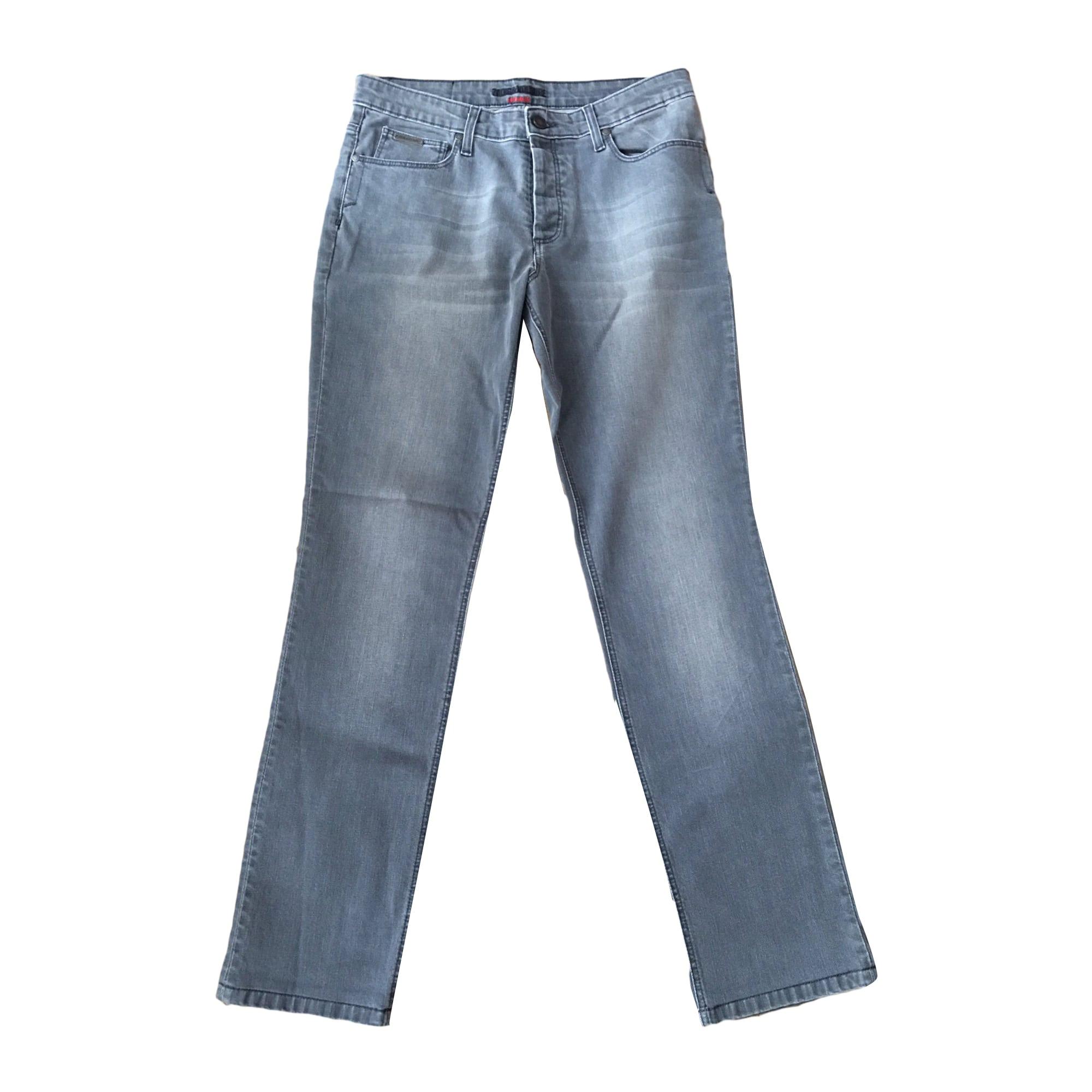 Jeans droit ZADIG & VOLTAIRE Gris, anthracite