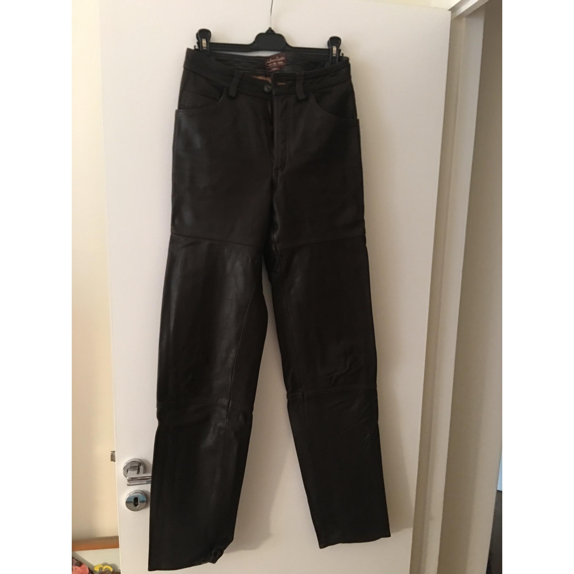 Pantalon droit MARLBORO CLASSICS Marron