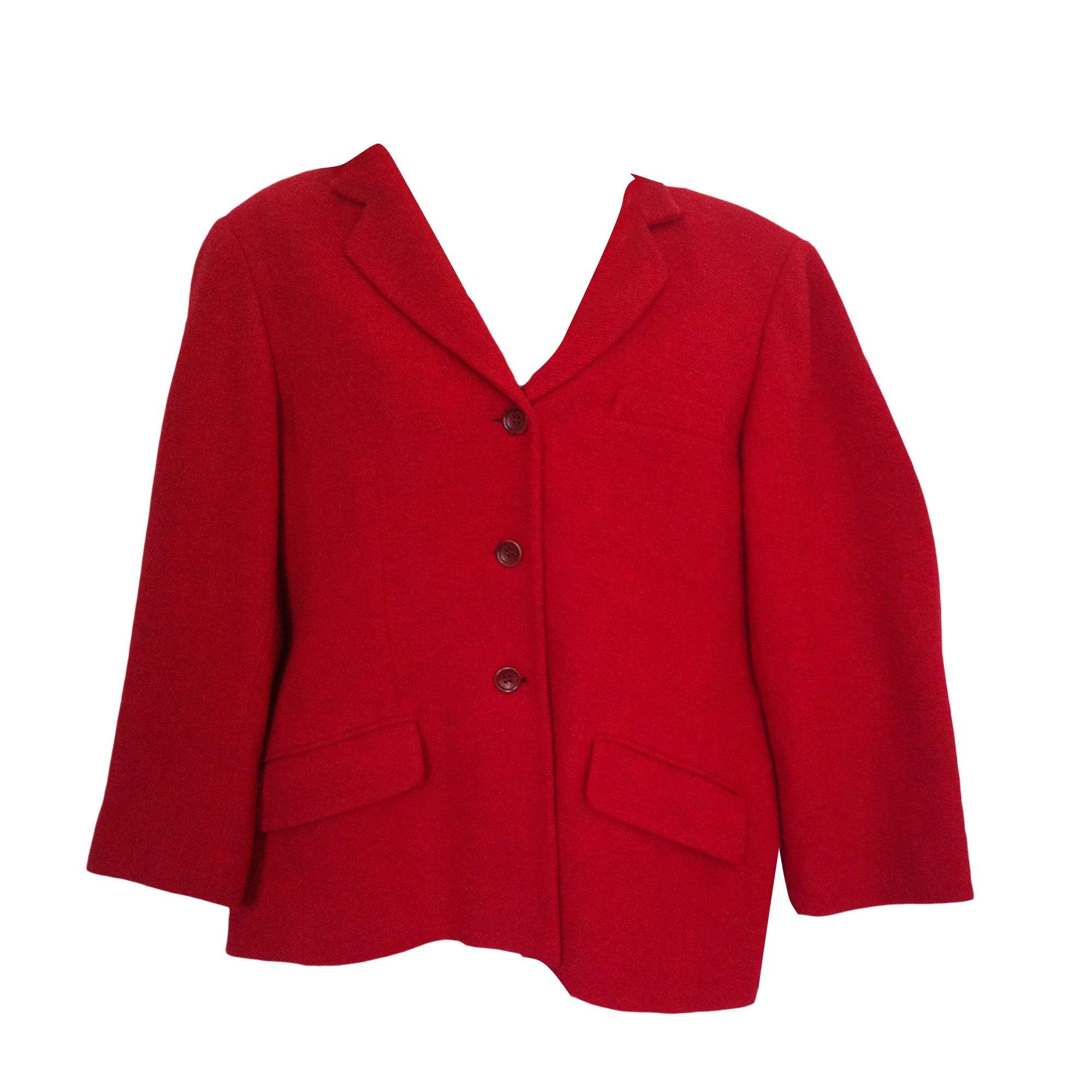 Blazer, veste tailleur GERARD DAREL Rouge, bordeaux