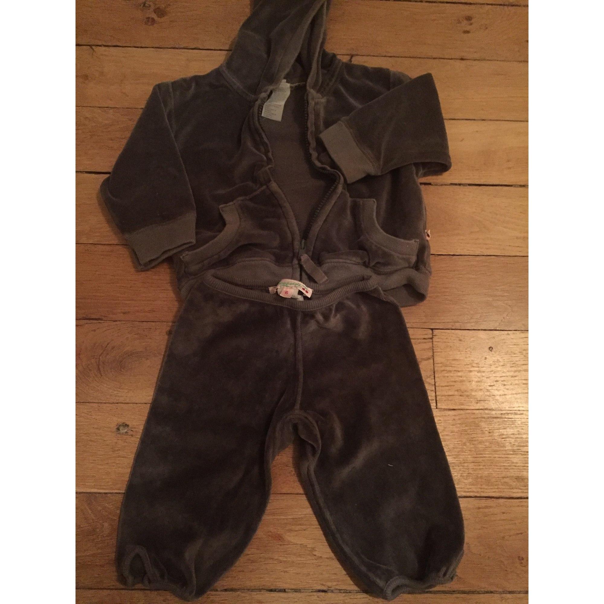 Ensemble & Combinaison pantalon BONPOINT Gris, anthracite