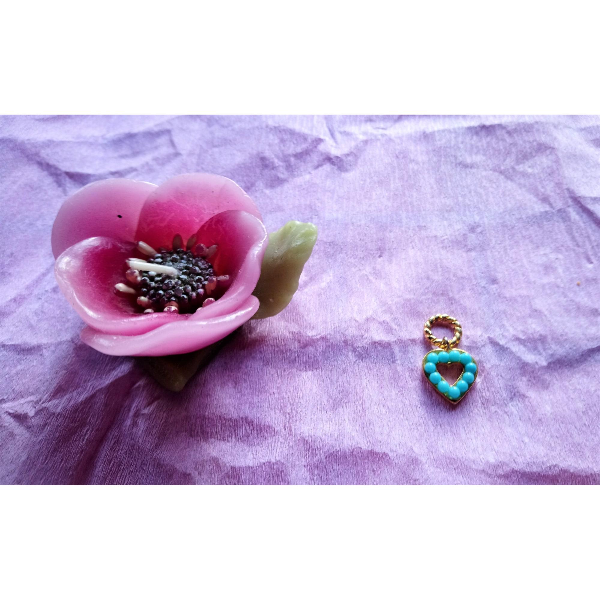 Pendentif, collier pendentif NO COLLECTION Bleu, bleu marine, bleu turquoise