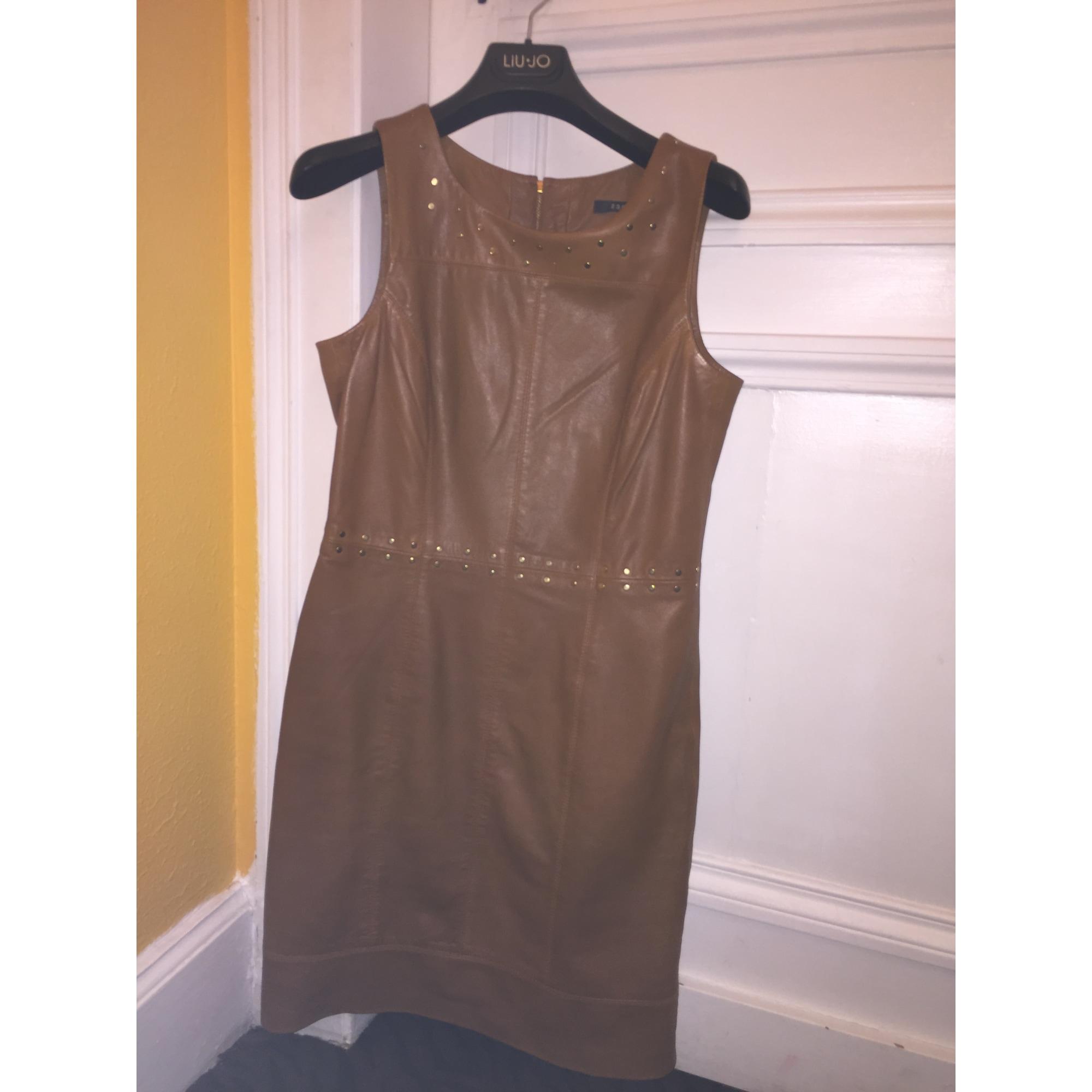 Robe mi-longue ESPRIT Doré, bronze, cuivre