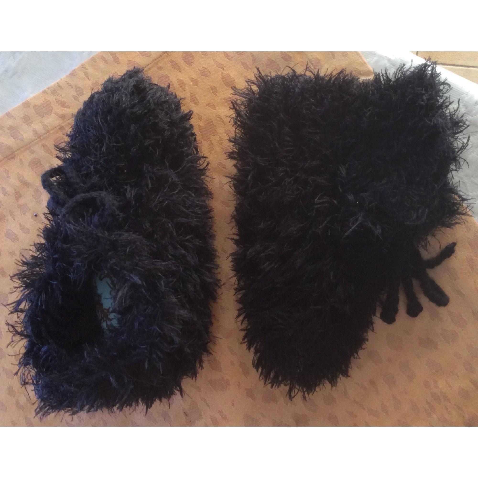 Chaussons & pantoufles POURQUOI PAS Noir