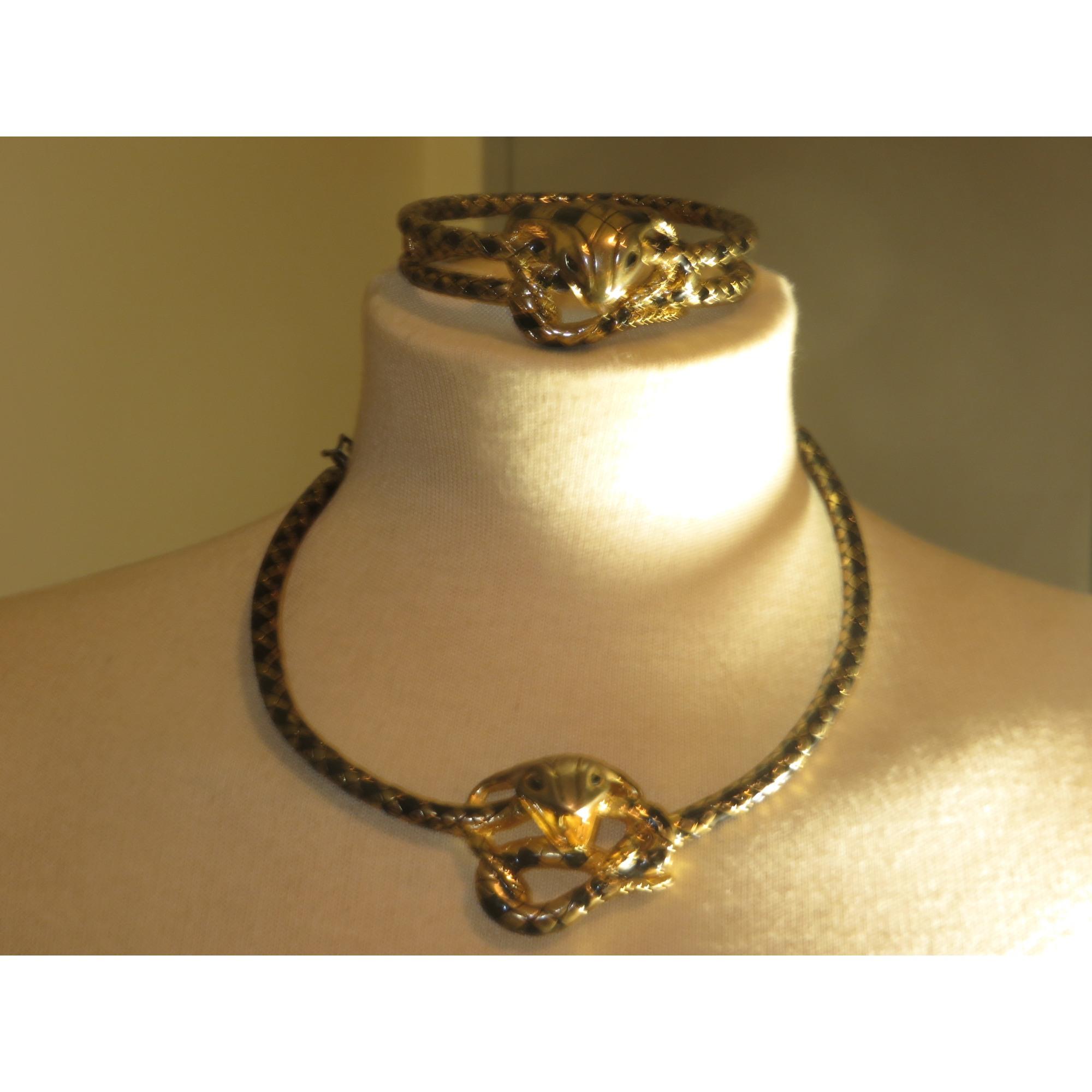 Parure bijoux BIMBA & LOLA Doré, bronze, cuivre