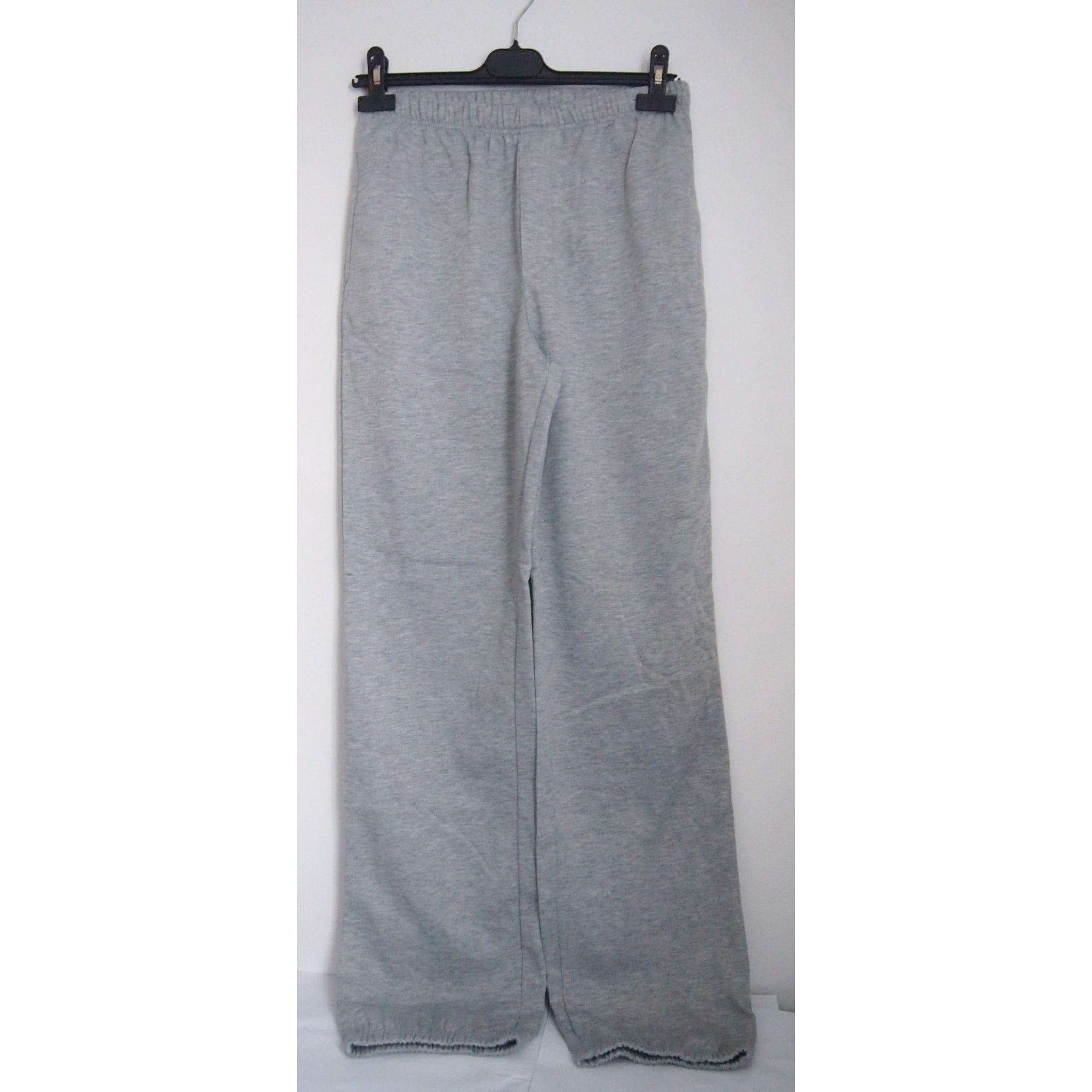 Pantalon de survêtement KIABI Gris, anthracite