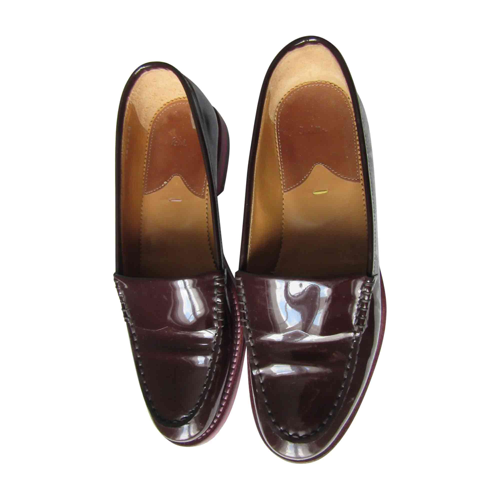 Mocassins PAUL SMITH Rouge, bordeaux