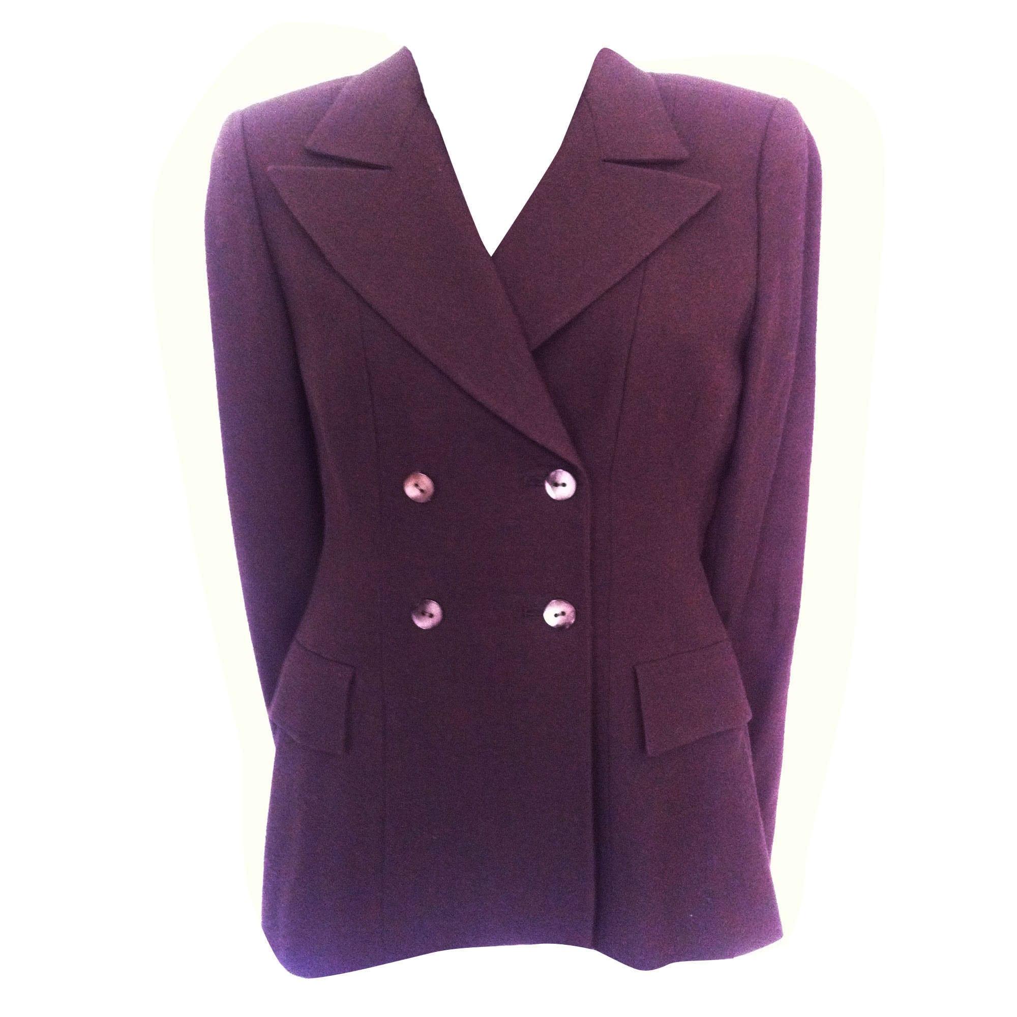 Blazer, veste tailleur ARMAND VENTILO Marron