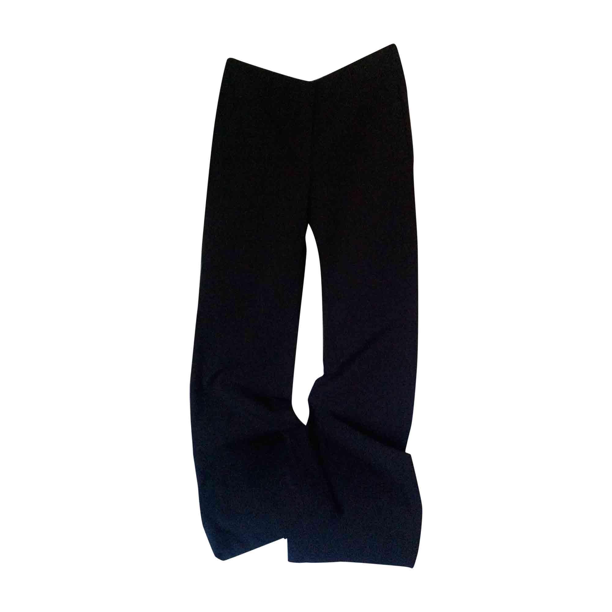 Pantalon droit PRADA Noir