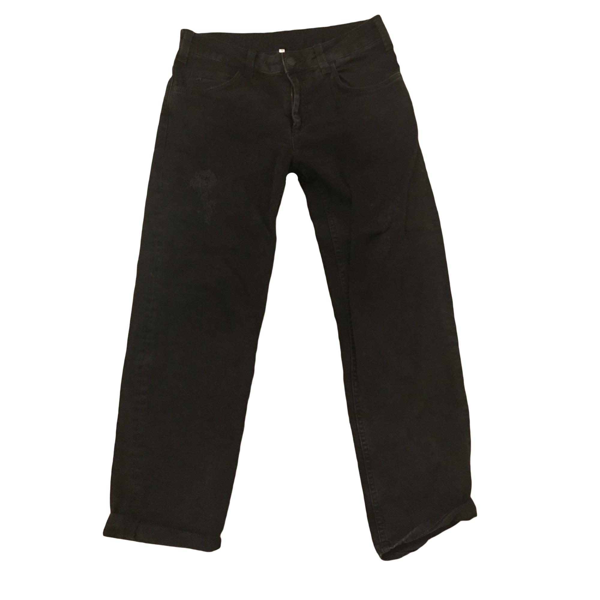 Jeans large, boyfriend SANDRO Noir