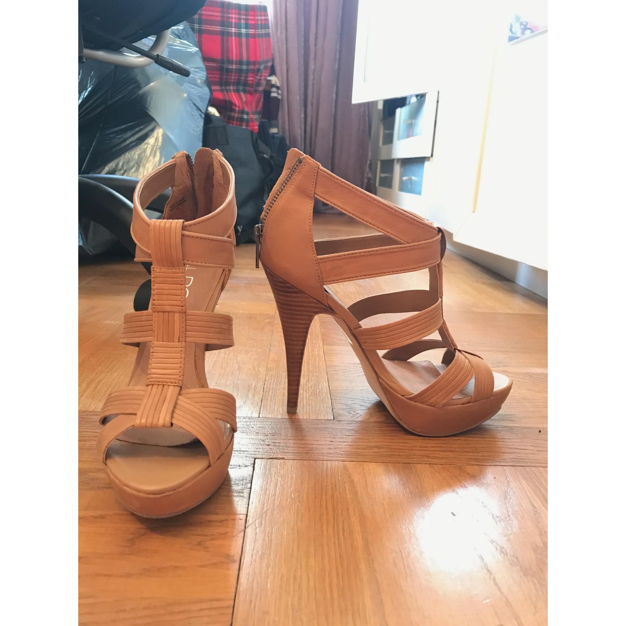 Sandales à talons ALDO Beige, camel