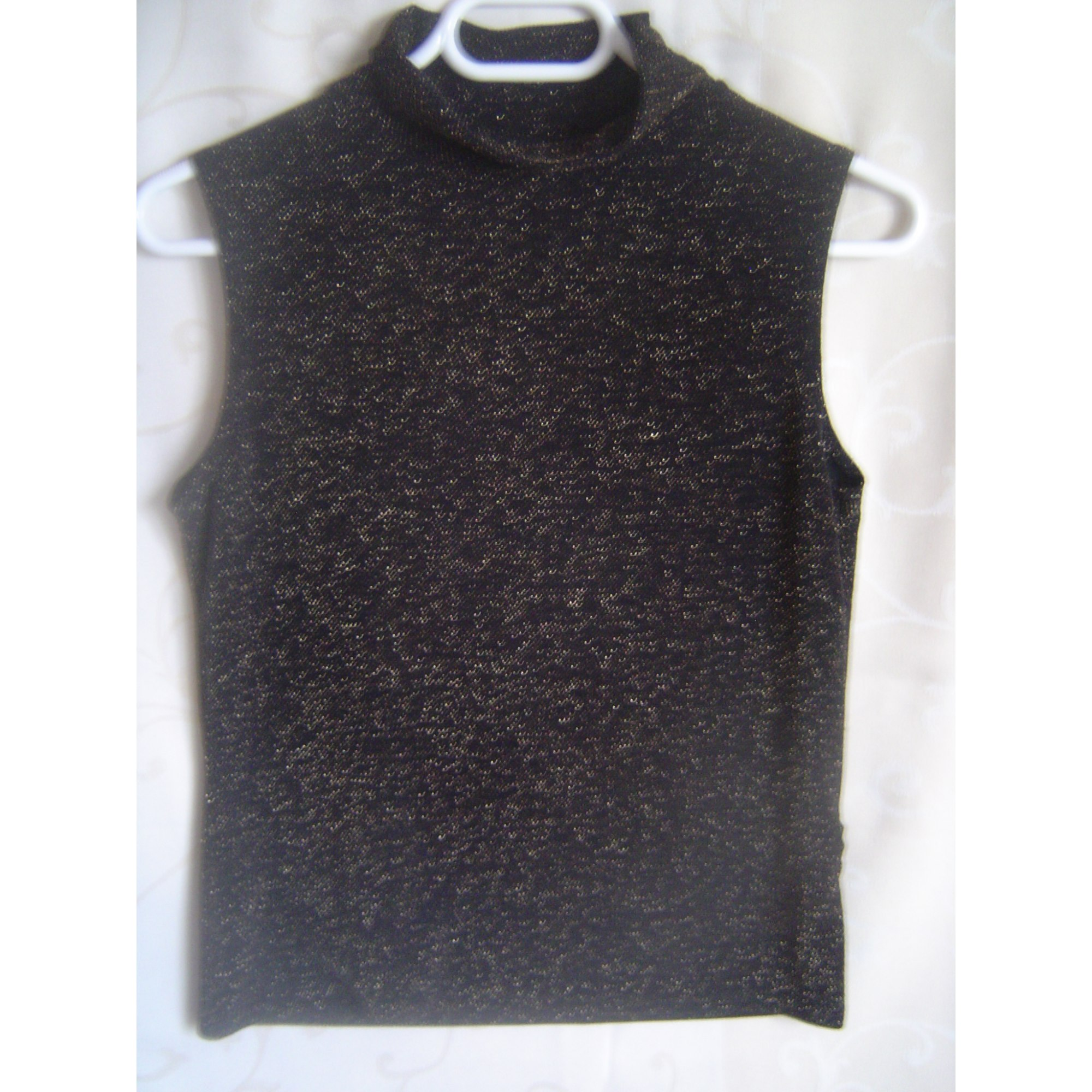 Top, tee-shirt CAMAIEU Noir