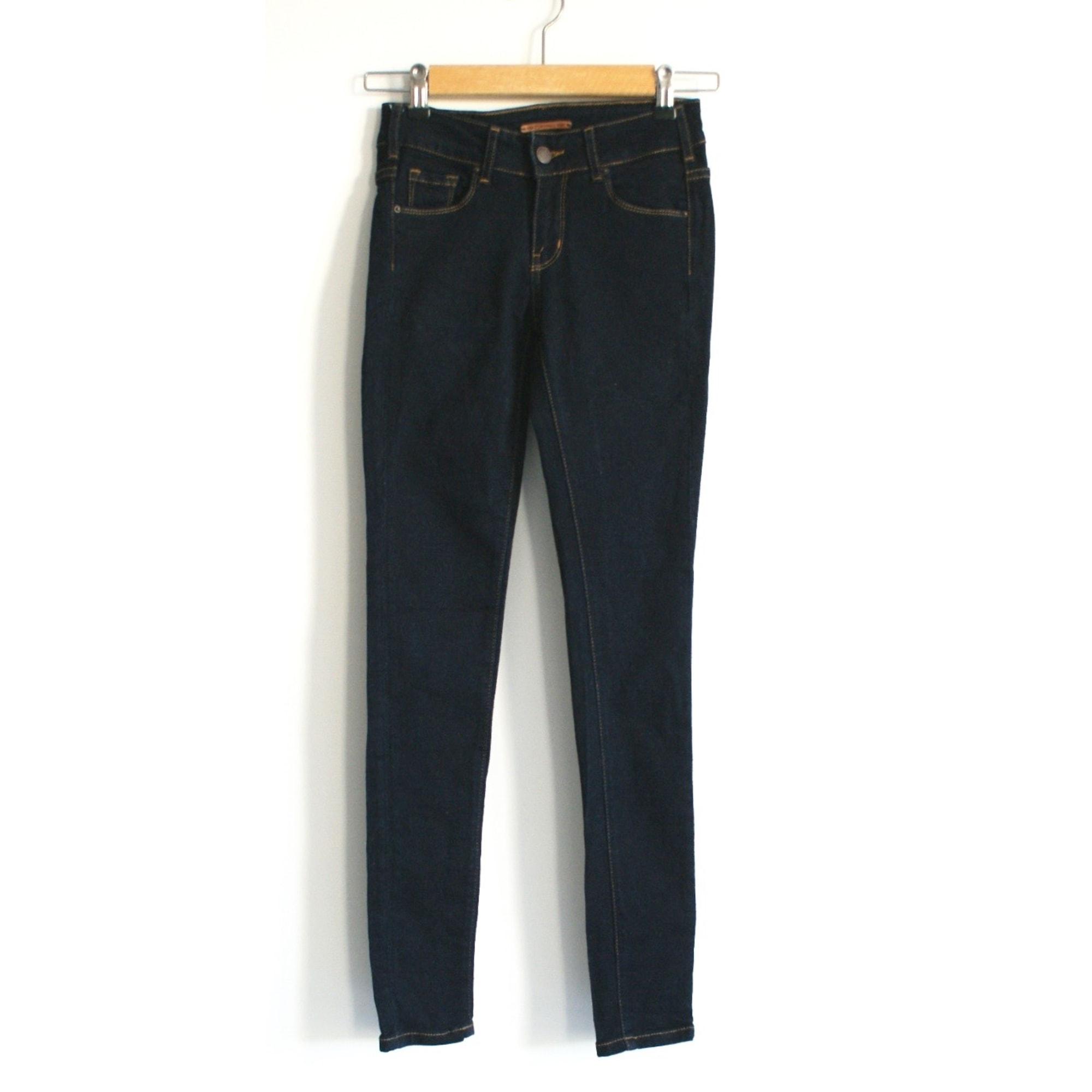 Jeans droit CIMARRON Bleu, bleu marine, bleu turquoise