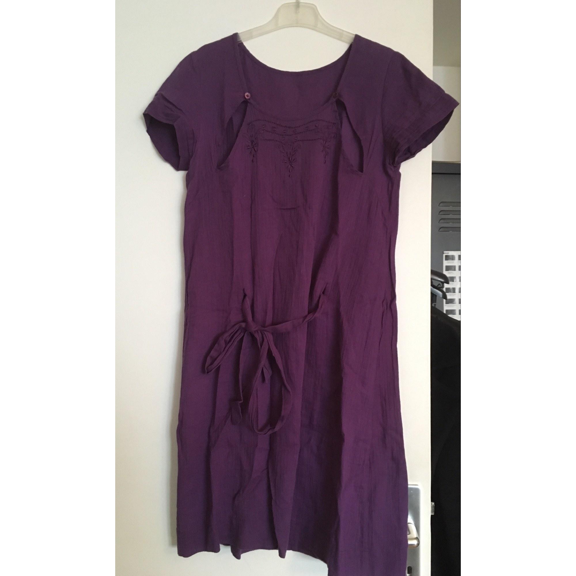 Robe courte SHYDE Violet, mauve, lavande