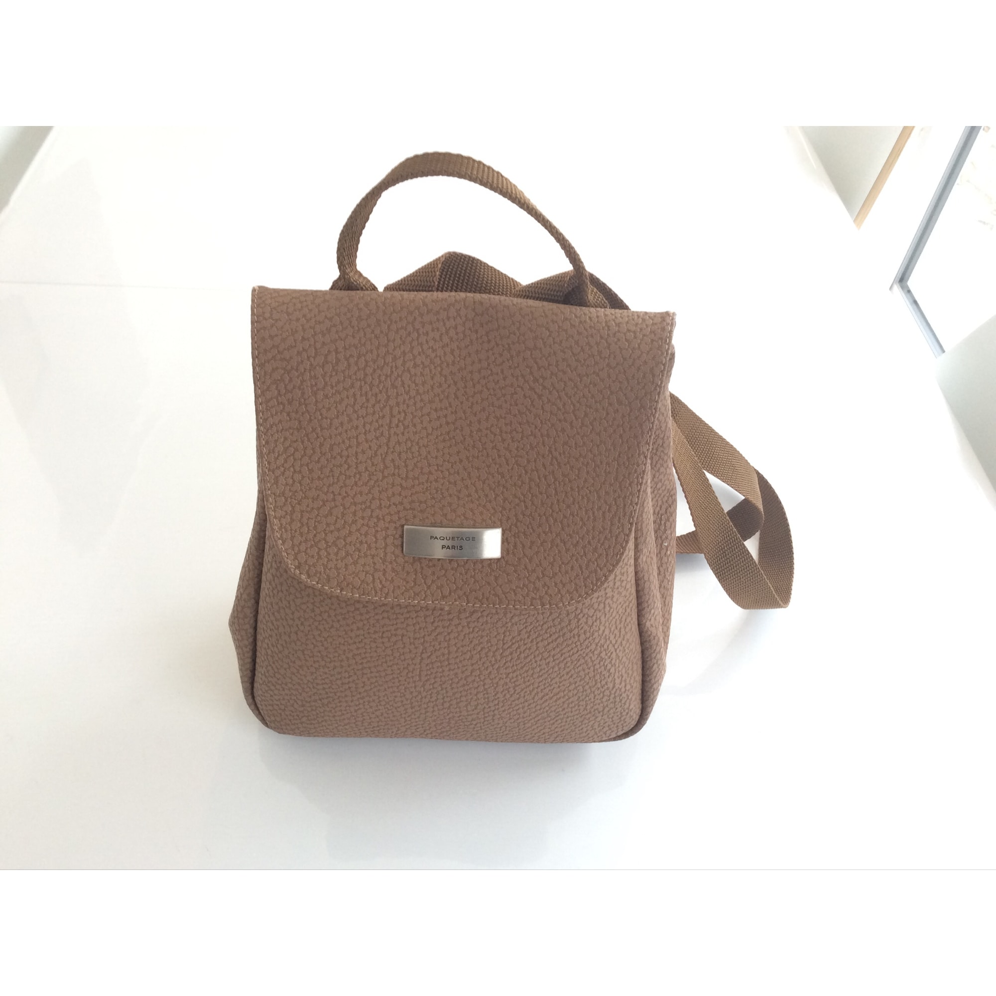 Backpack PAQUETAGE Brown