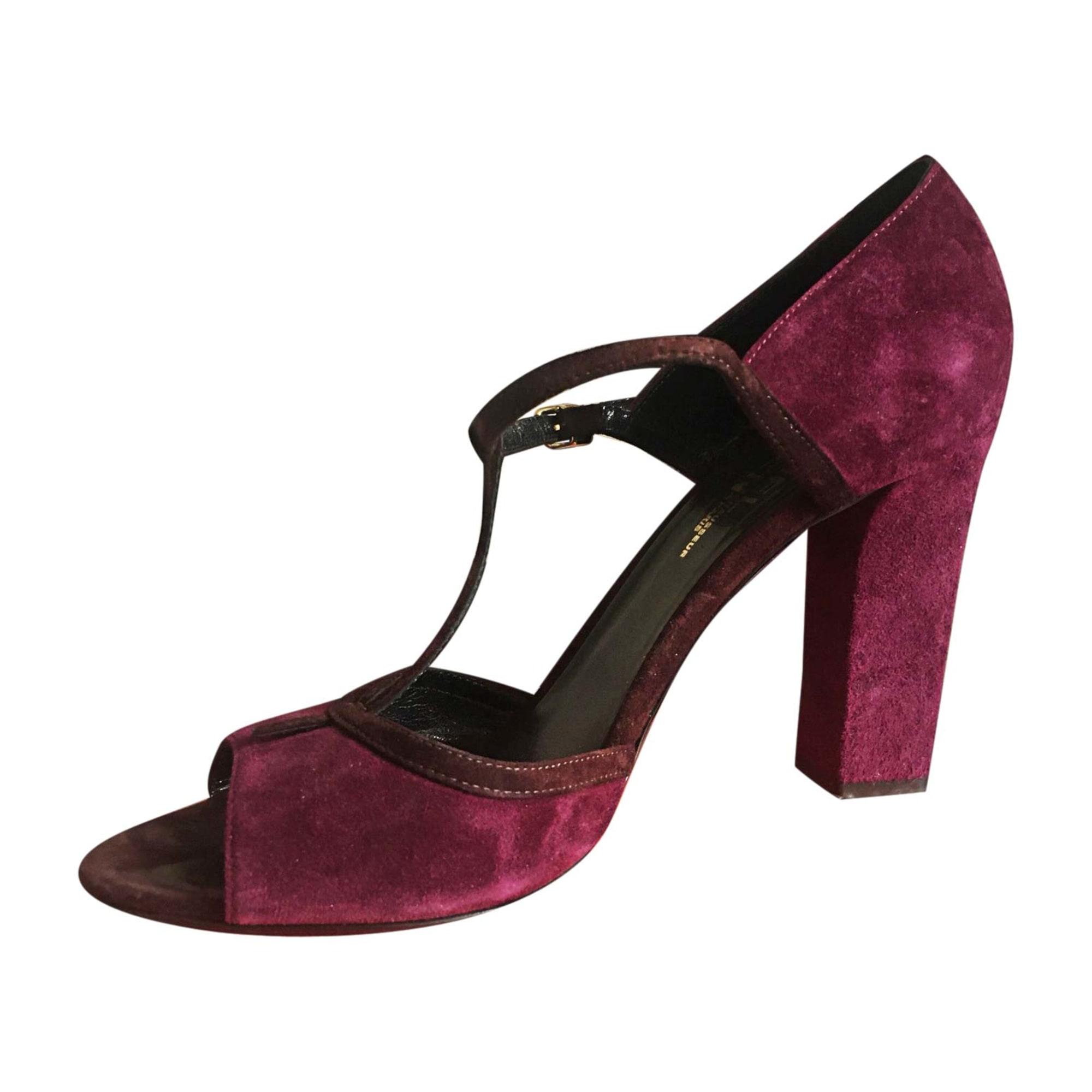 Sandales à talons MICHEL VIVIEN Violet, mauve, lavande