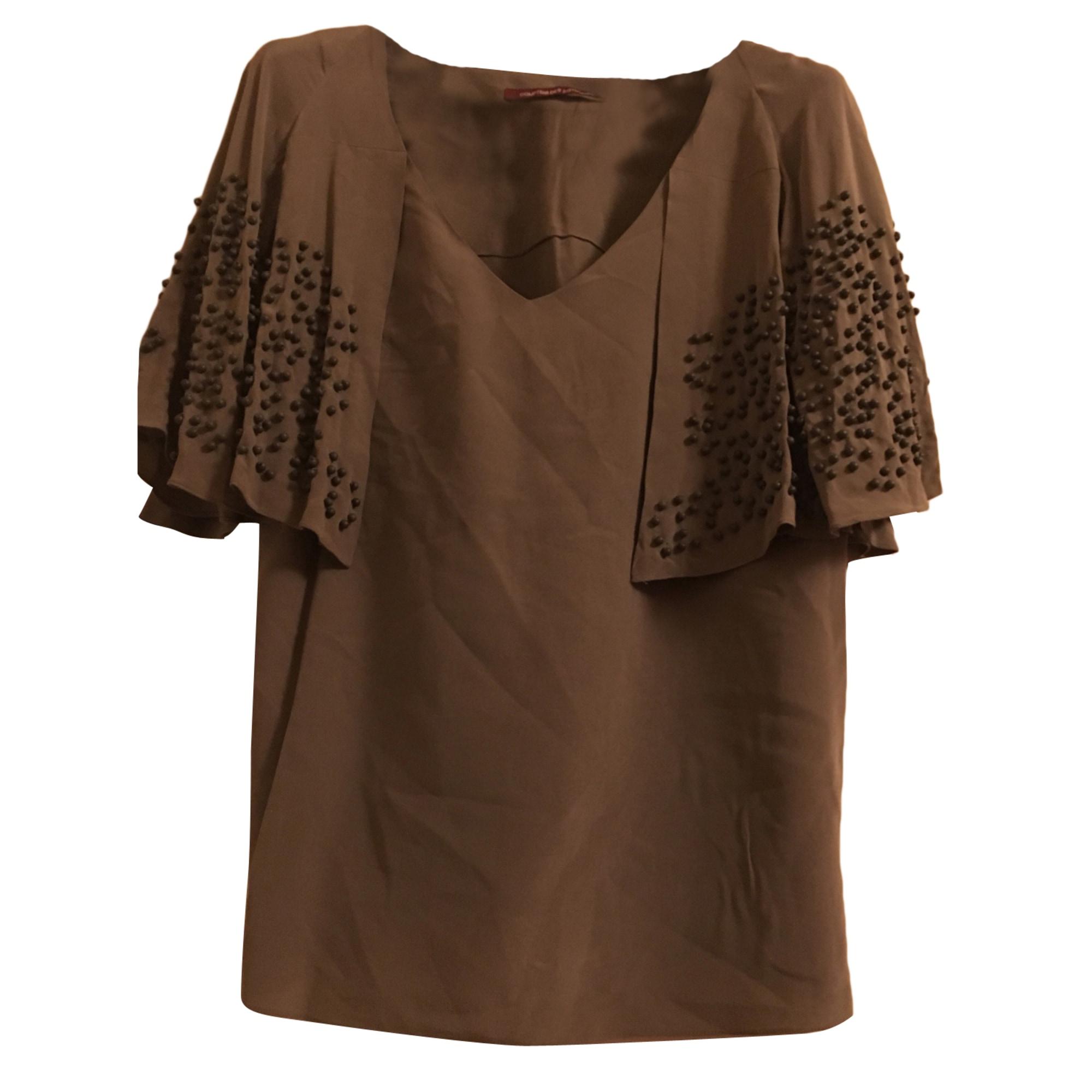 Top, tee-shirt COMPTOIR DES COTONNIERS Kaki