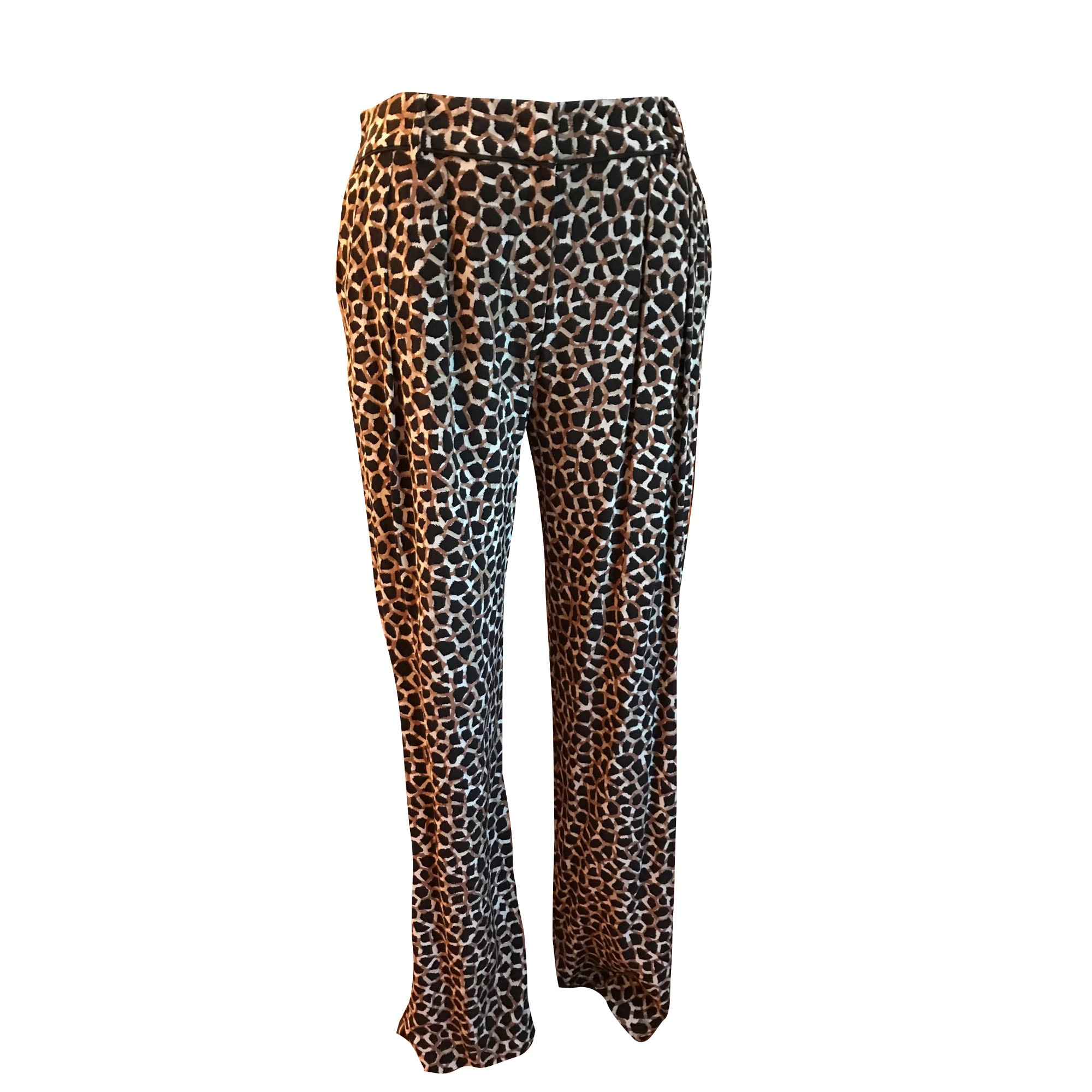 Pantalon droit GERARD DAREL Imprimés animaliers