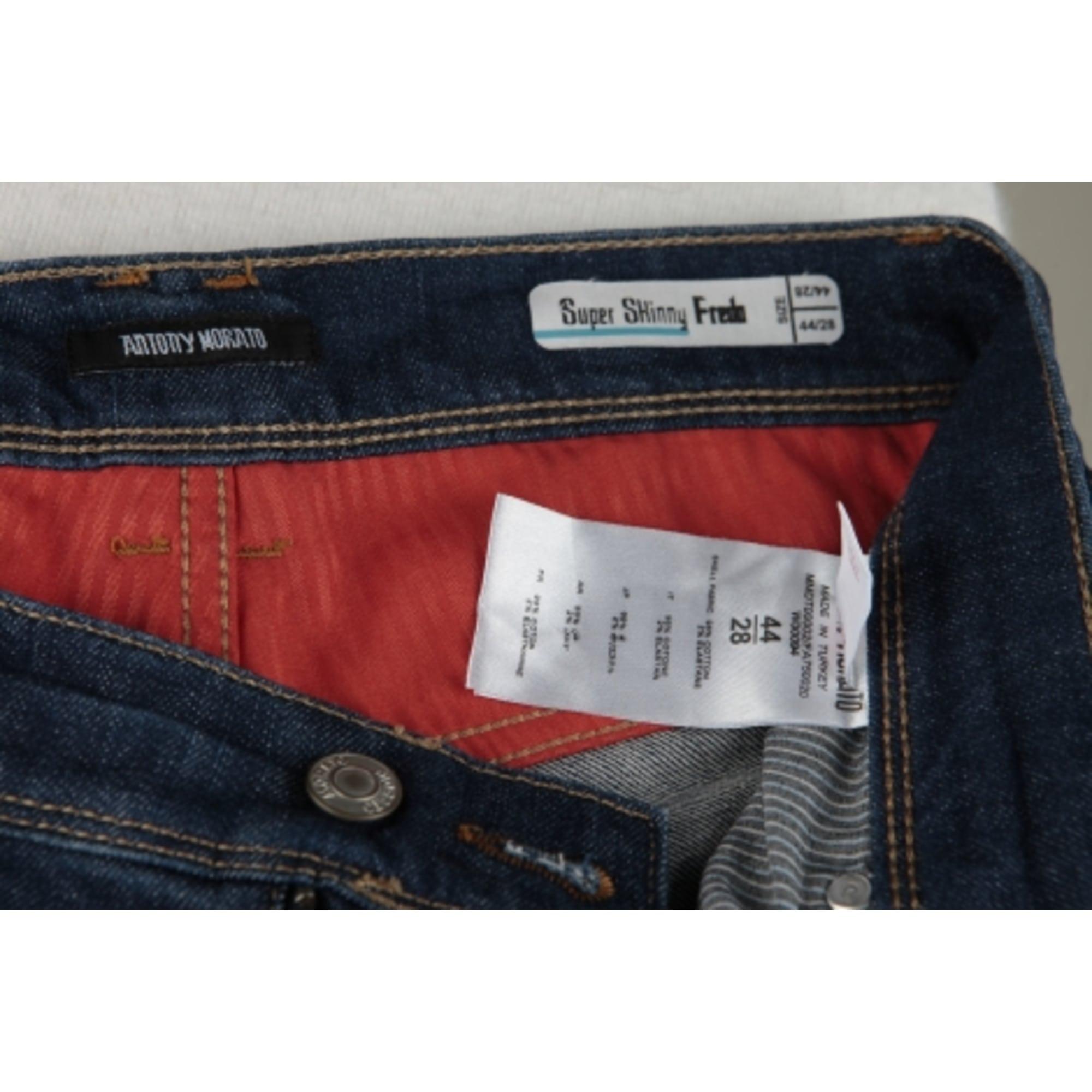 Jeans slim ANTHONY MORATO Bleu, bleu marine, bleu turquoise