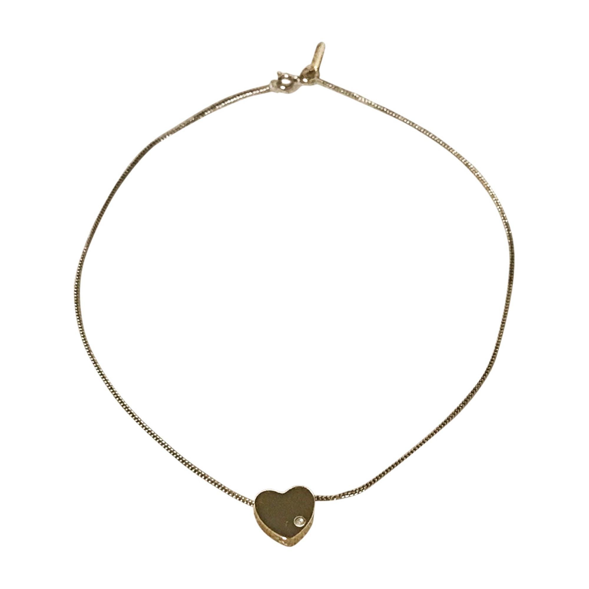 Pendentif, collier pendentif MARC JACOBS Doré, bronze, cuivre