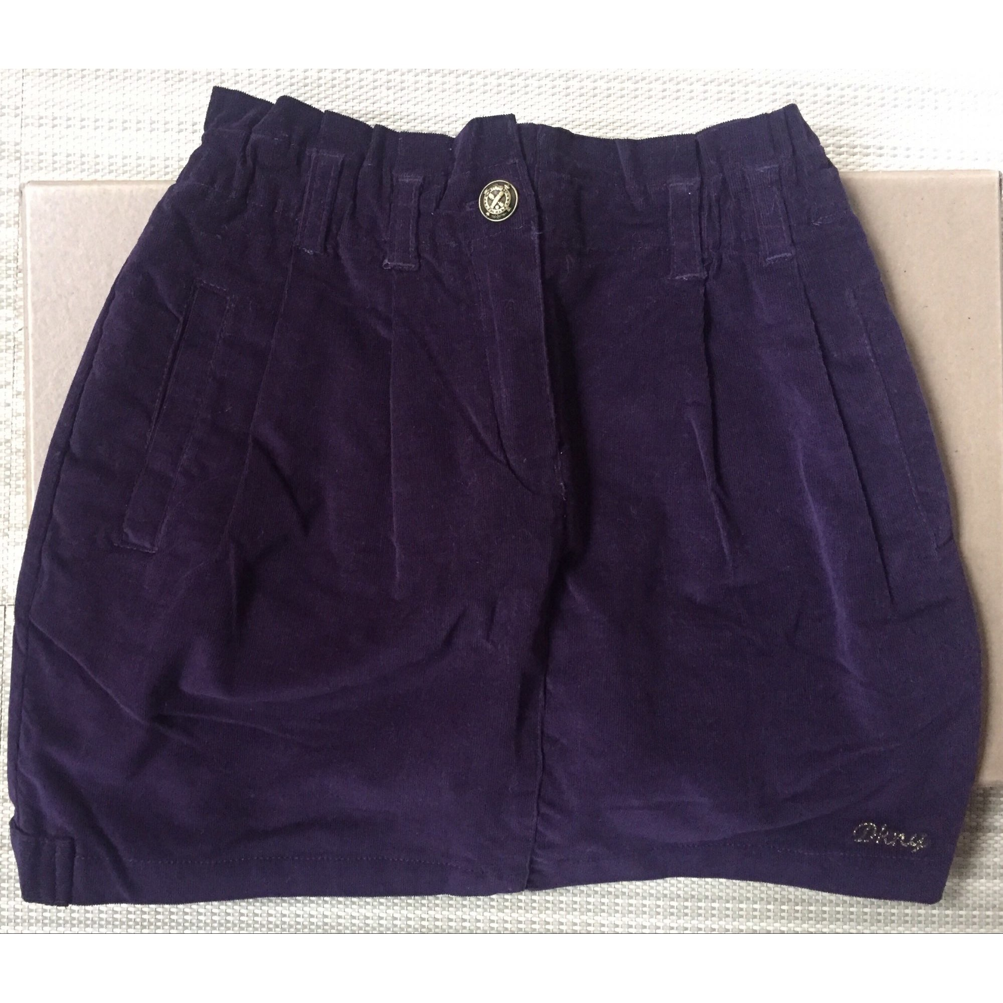 Jupe DKNY Violet, mauve, lavande