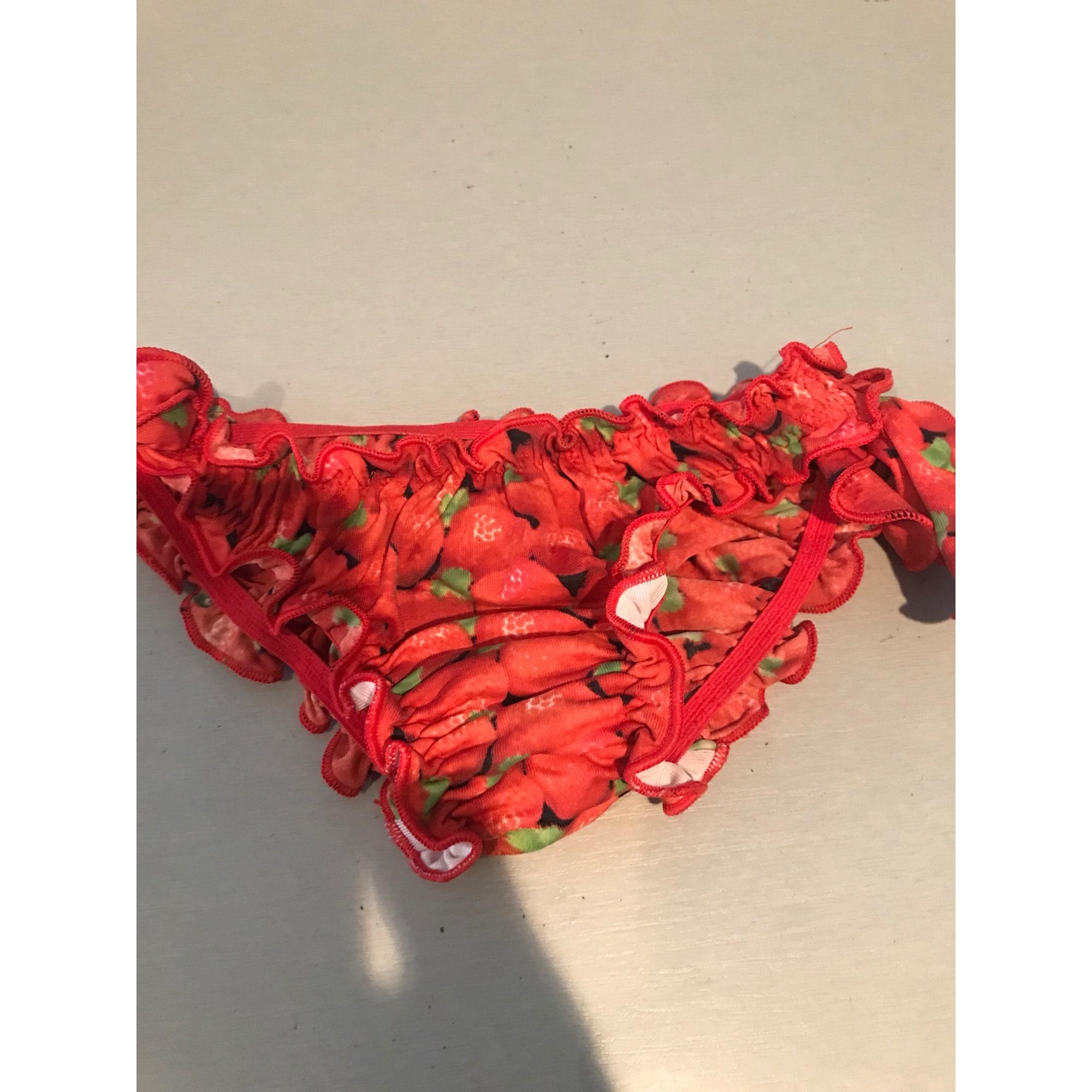 Shorts CALZEDONIA Red, burgundy