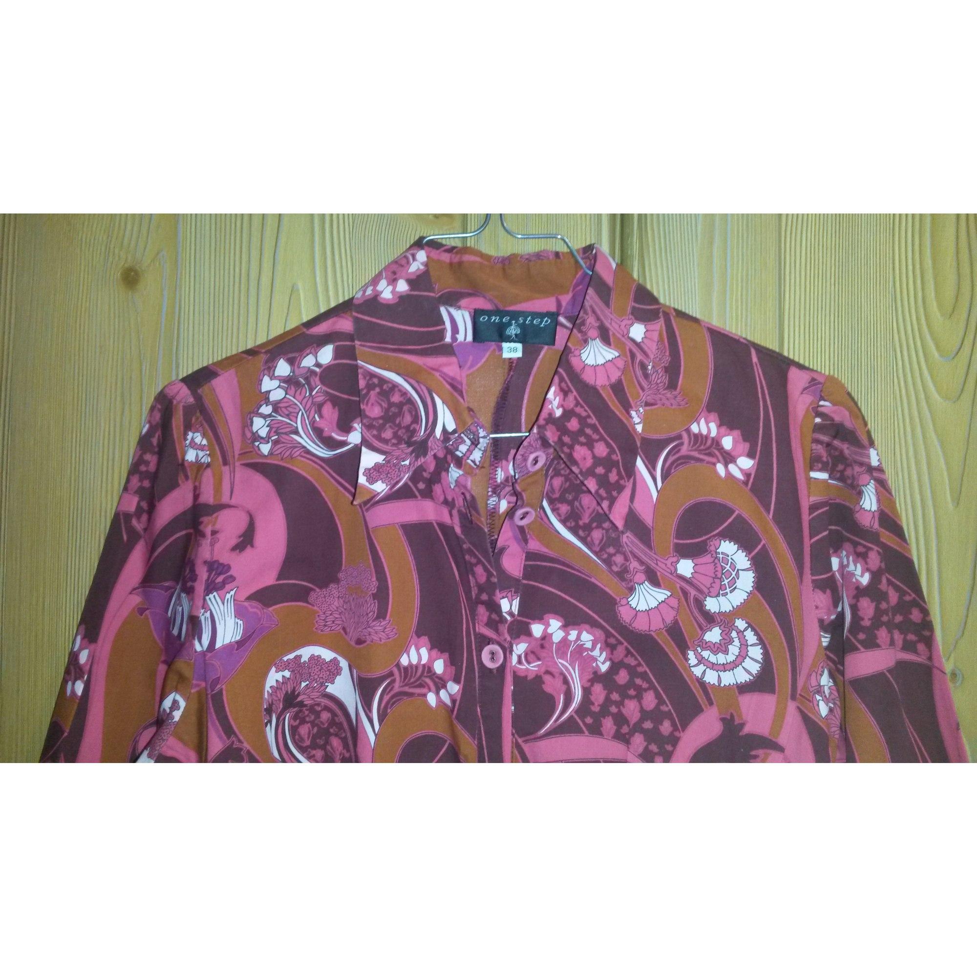 Robe tunique ONE STEP Rose, fuschia, vieux rose