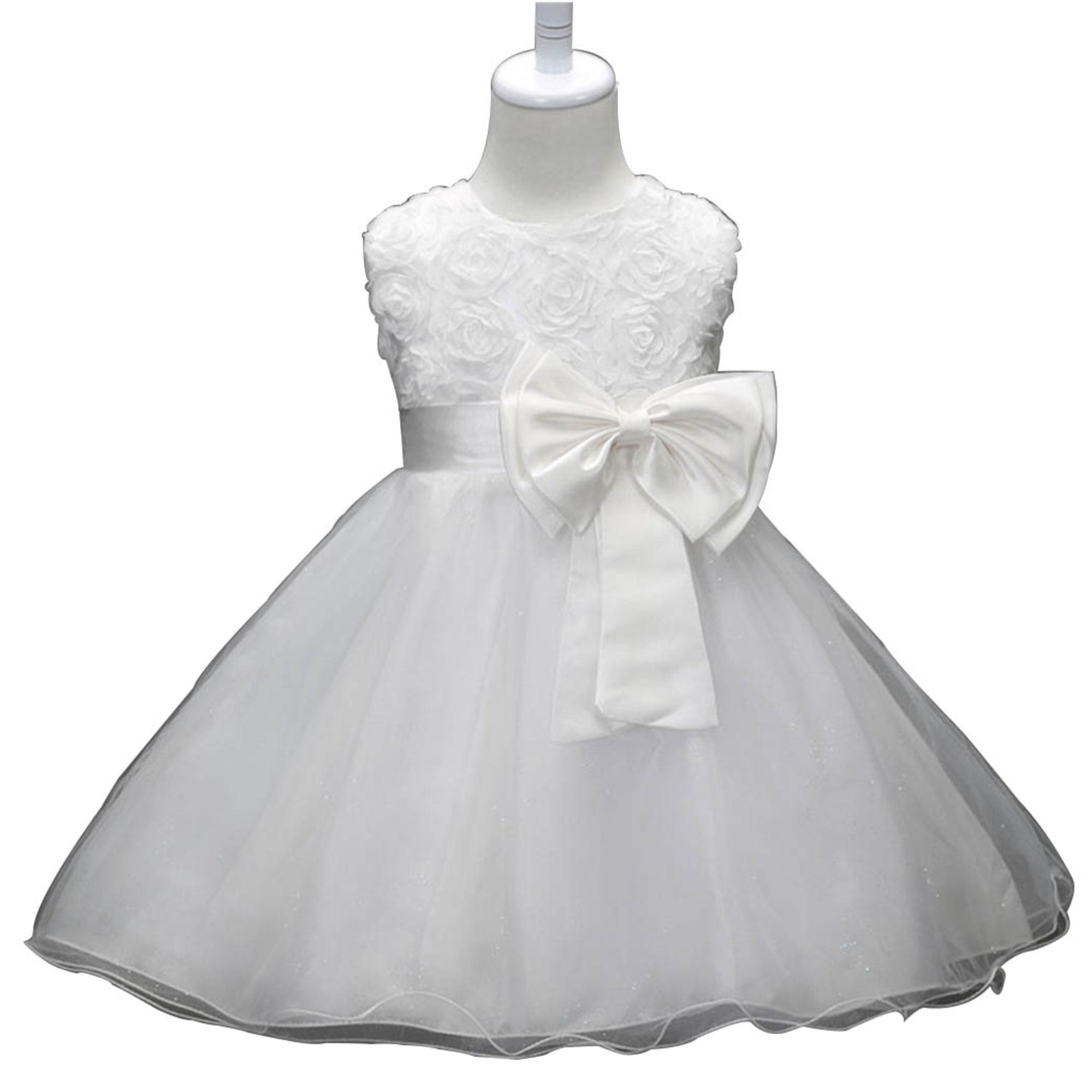 Robe CATCHYMARKET Blanc, blanc cassé, écru