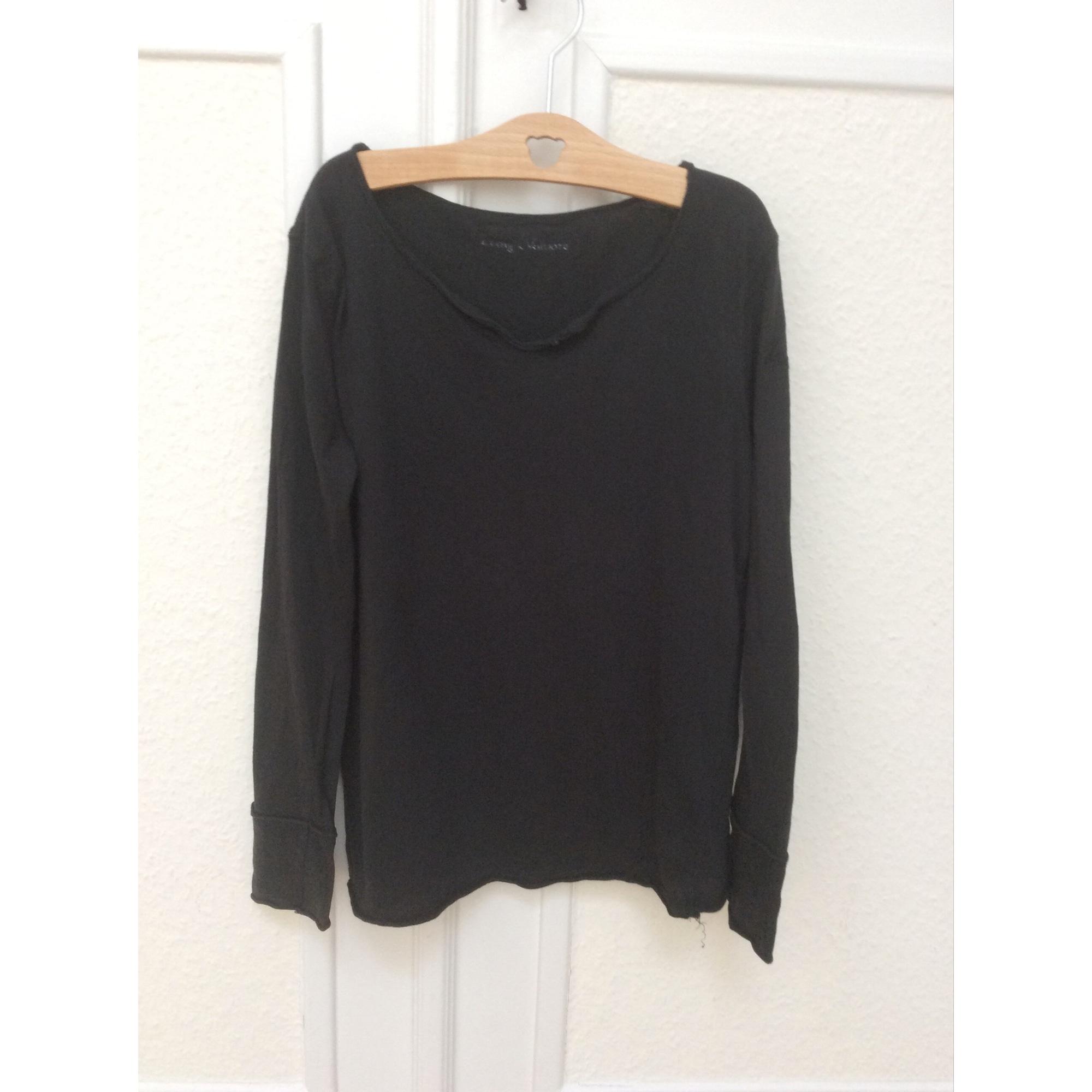 Top, Tee-shirt ZADIG & VOLTAIRE Noir