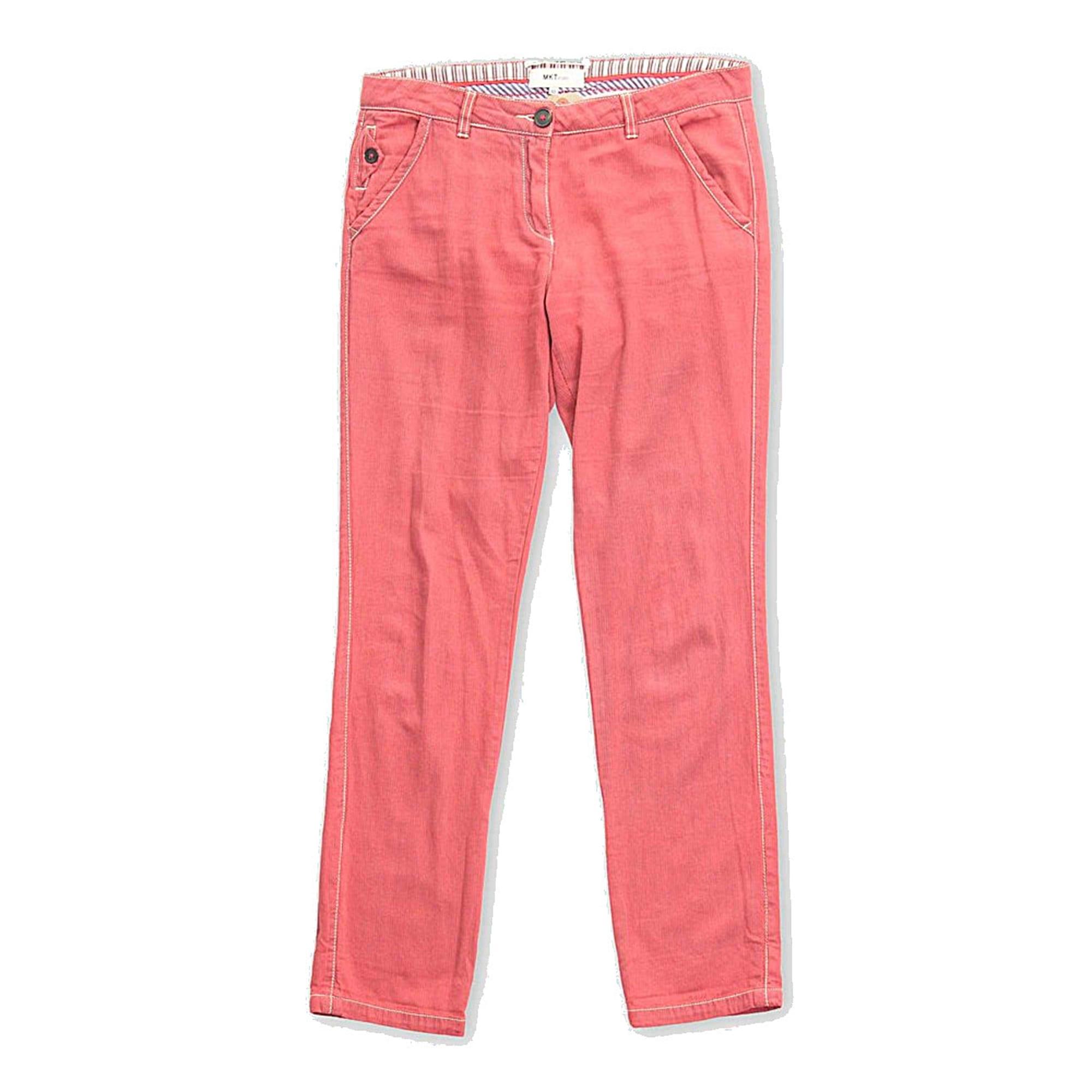 Pantalon droit MKT Rouge, bordeaux