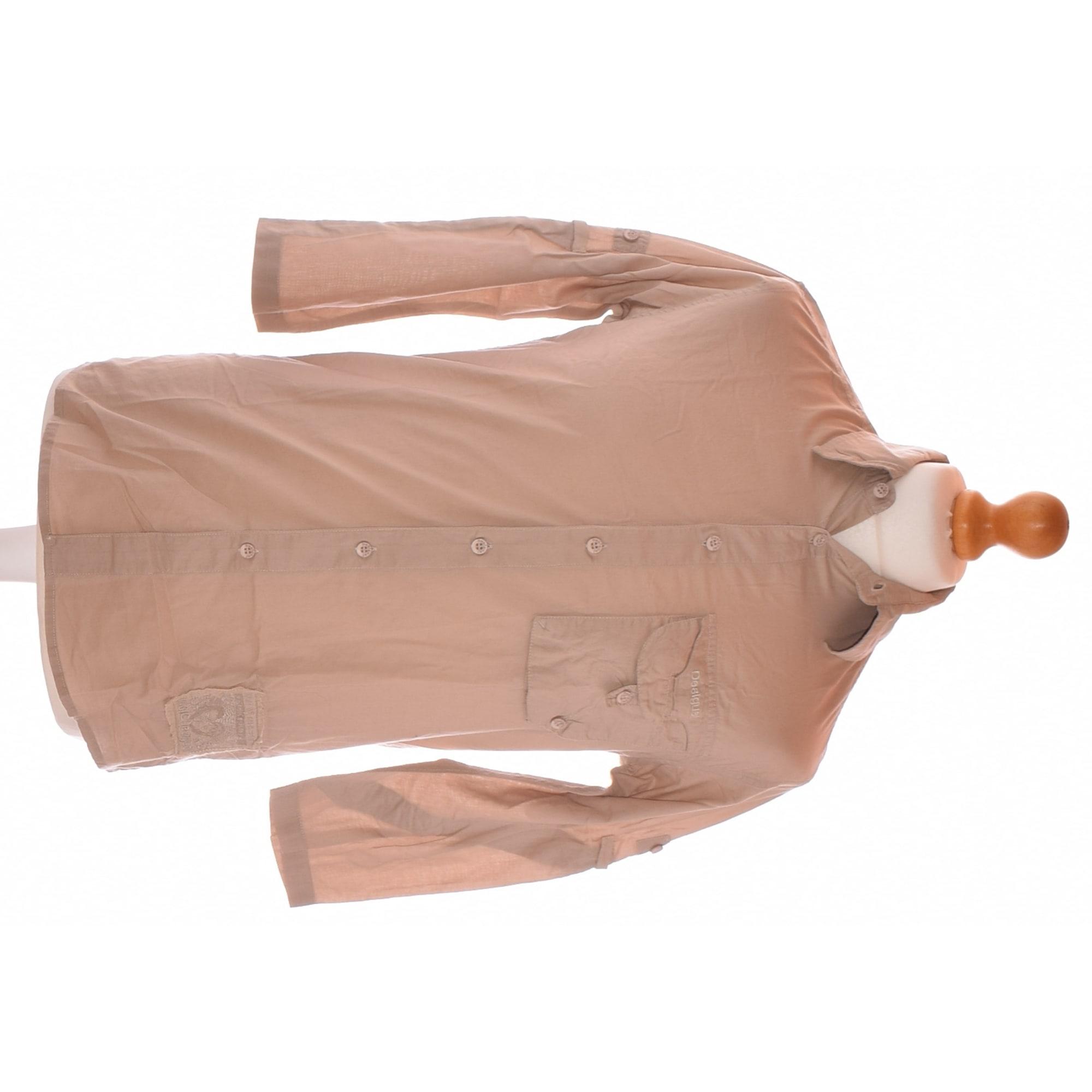 Shirt DESIGUAL Beige, camel