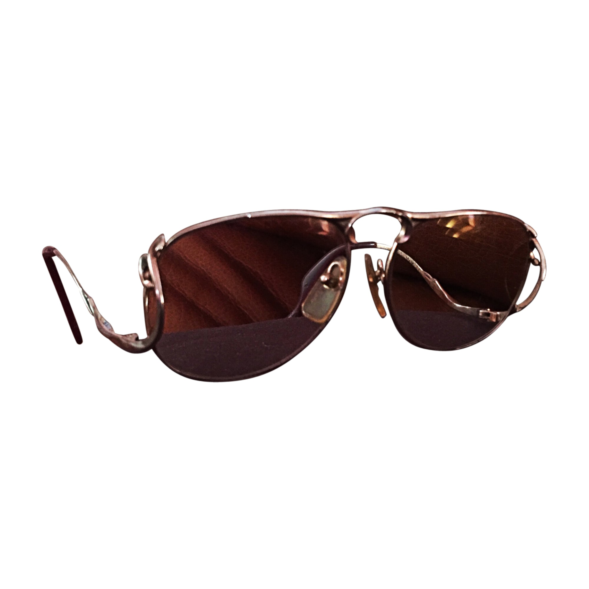 Eyeglass Frames ST DUPONT Golden, bronze, copper