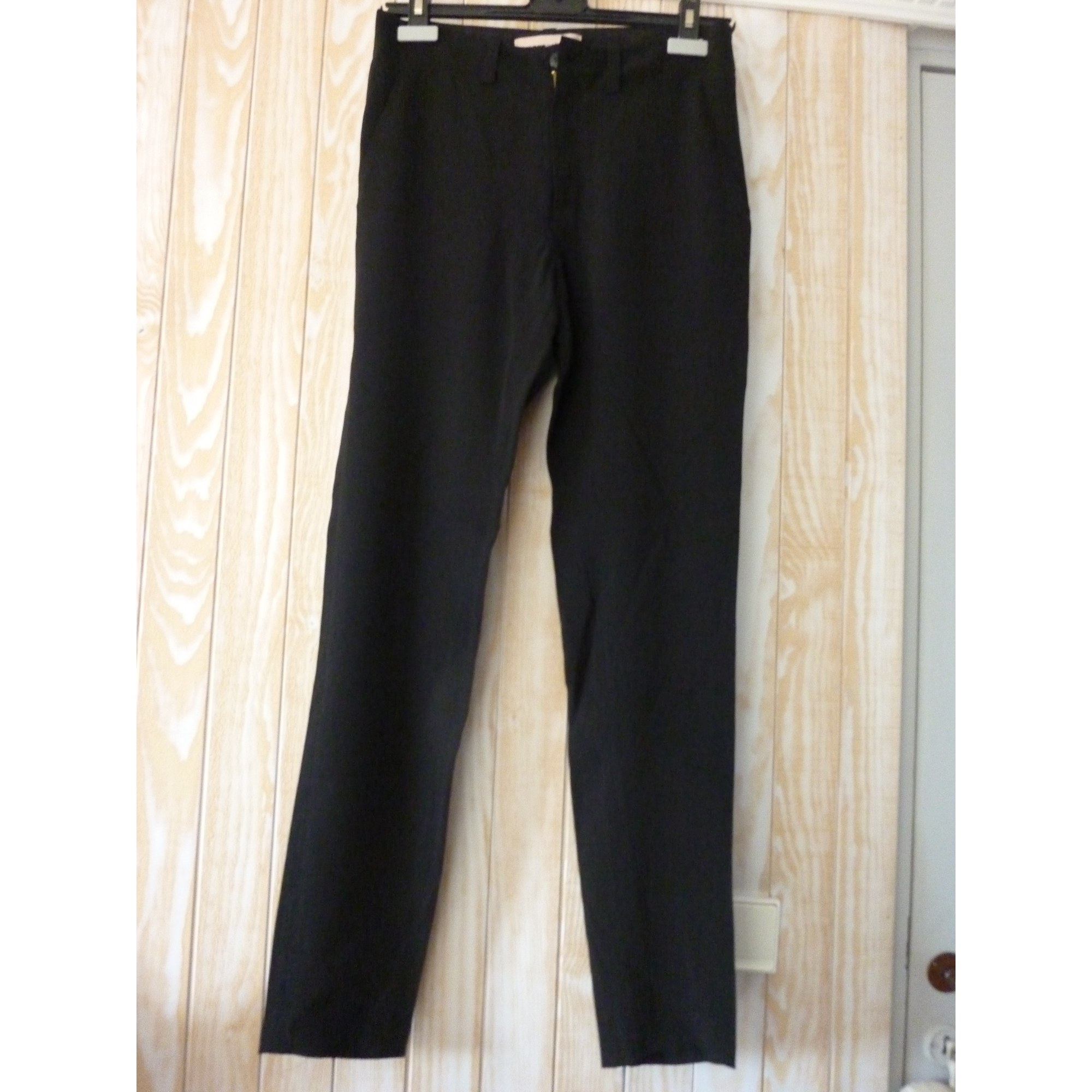 Pantalon droit VANESSA BRUNO Noir