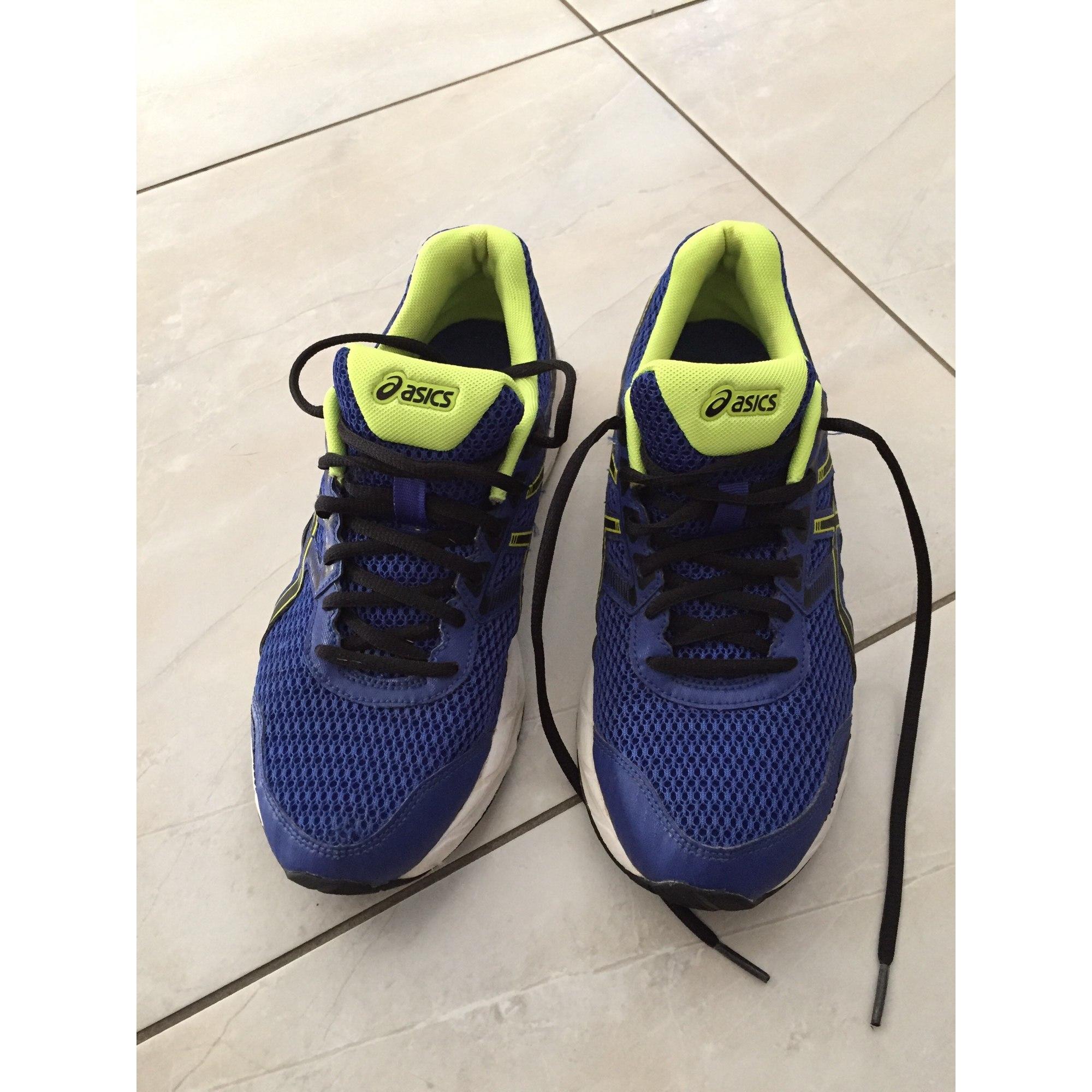 Baskets ASICS 40 bleu vendu par Molinie - 7231163