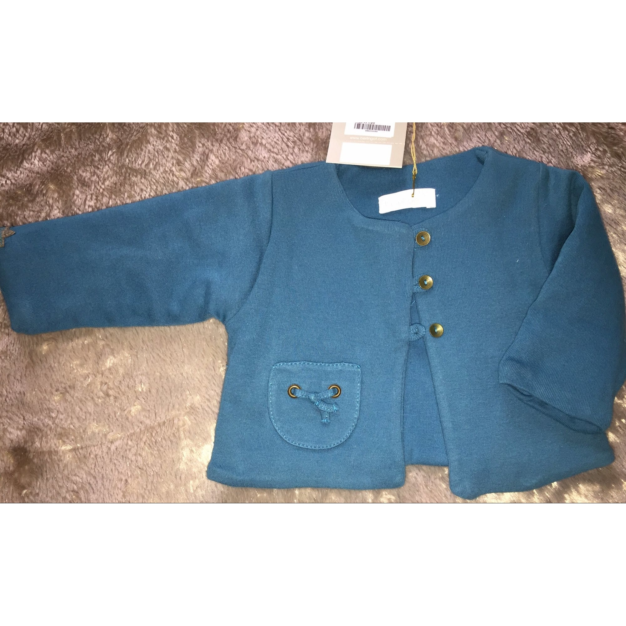 Veste BERLINGOT Bleu canard